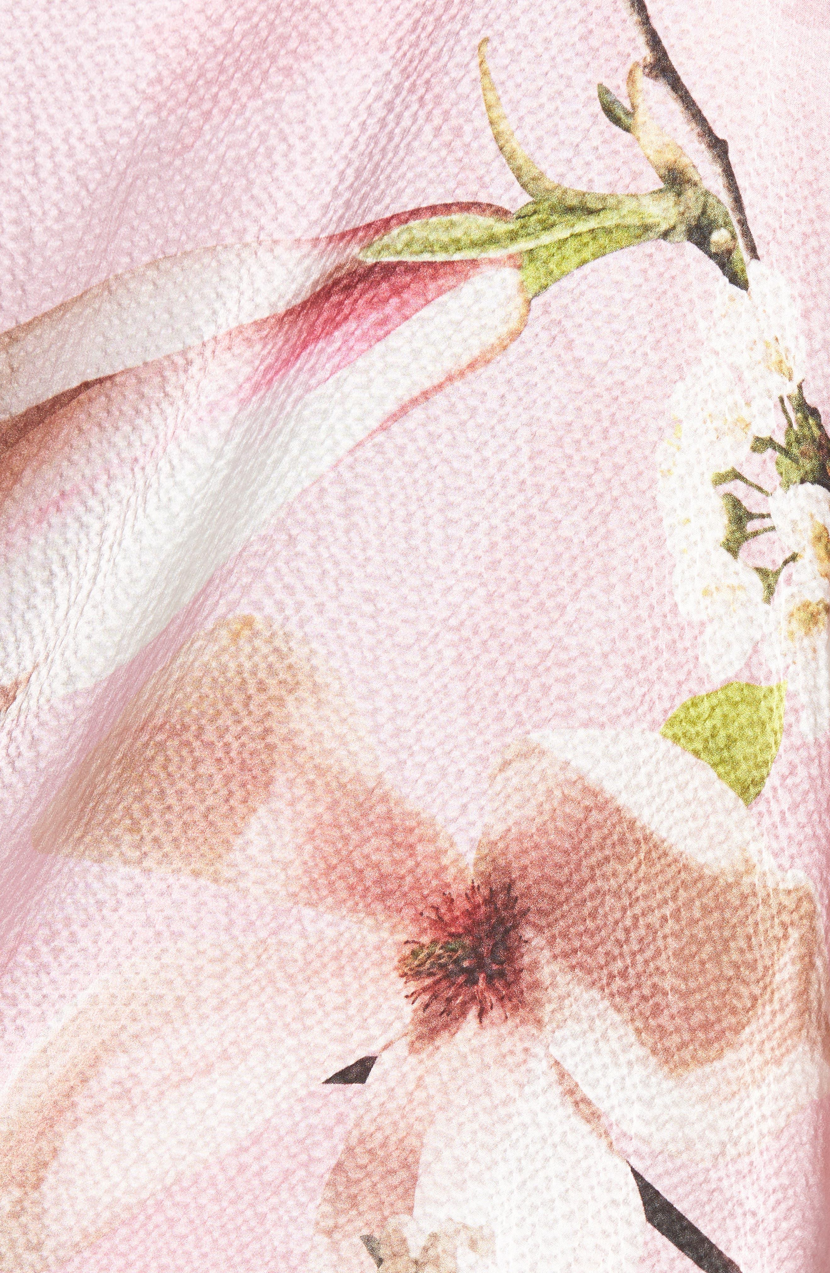 Harmony Cape,                             Alternate thumbnail 5, color,                             Pale Pink