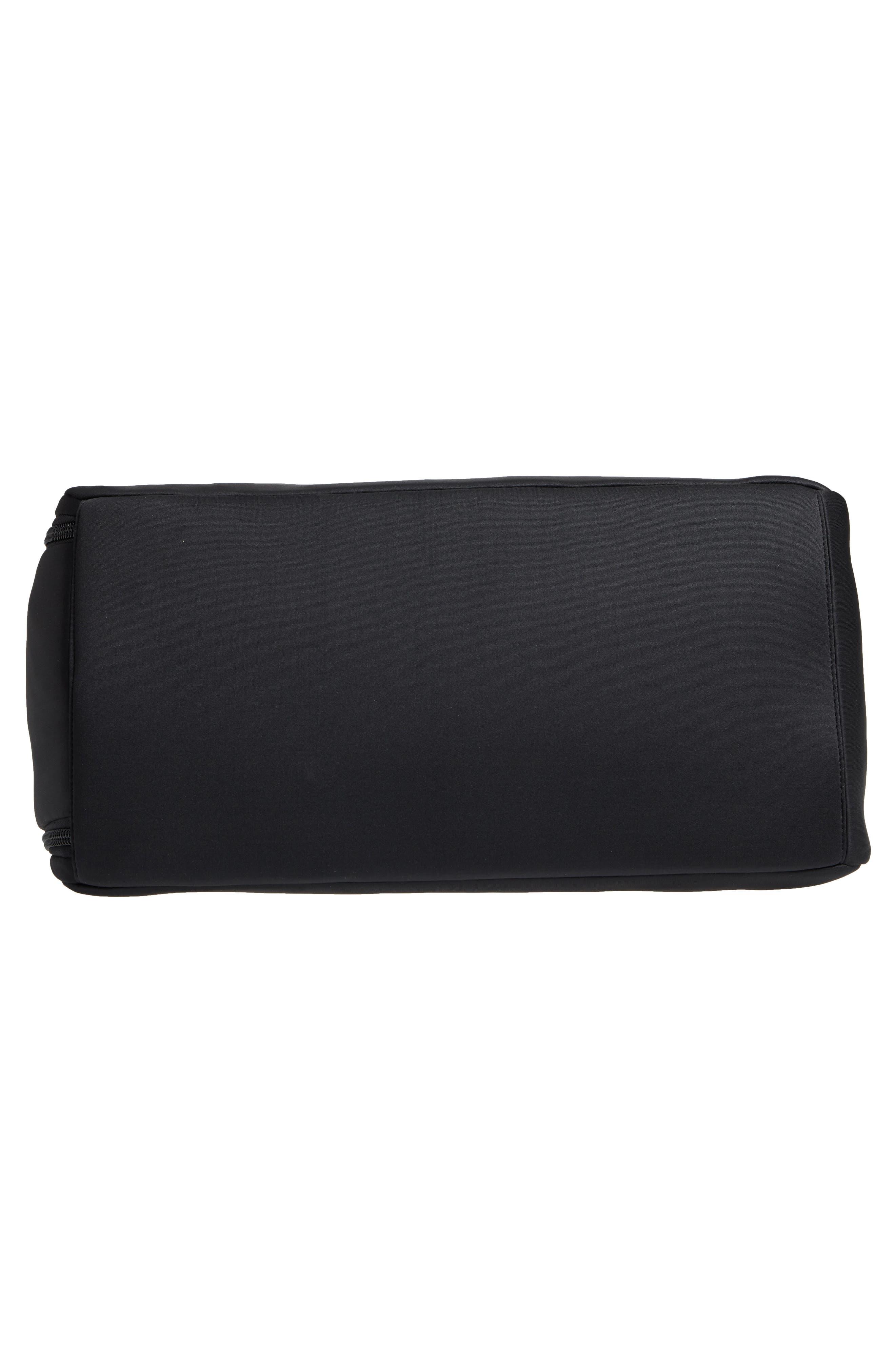 Franklin Neoprene Duffel Bag,                             Alternate thumbnail 6, color,                             Black