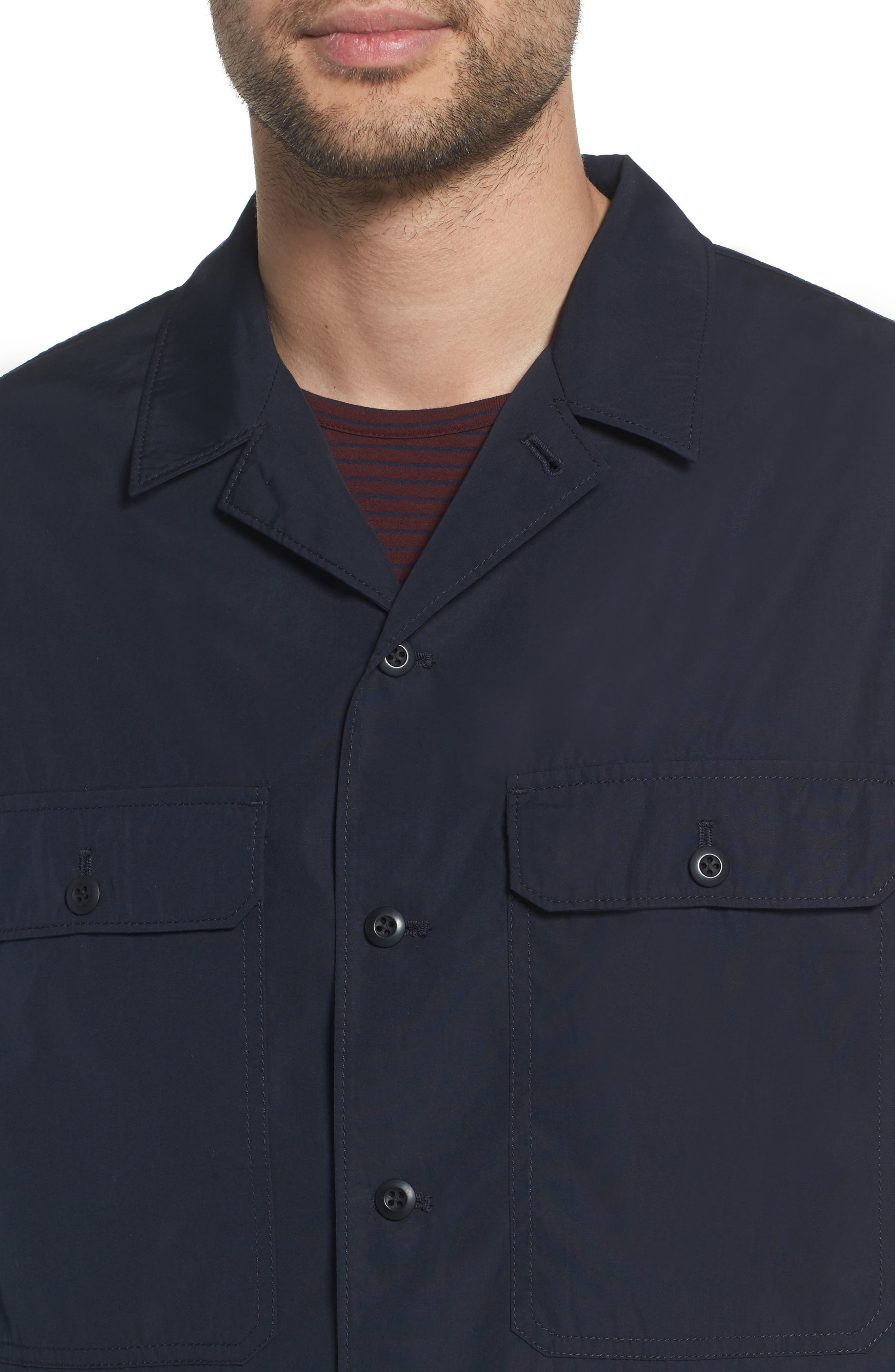 Regular Fit Shirt Jacket,                             Alternate thumbnail 4, color,                             New Coastal