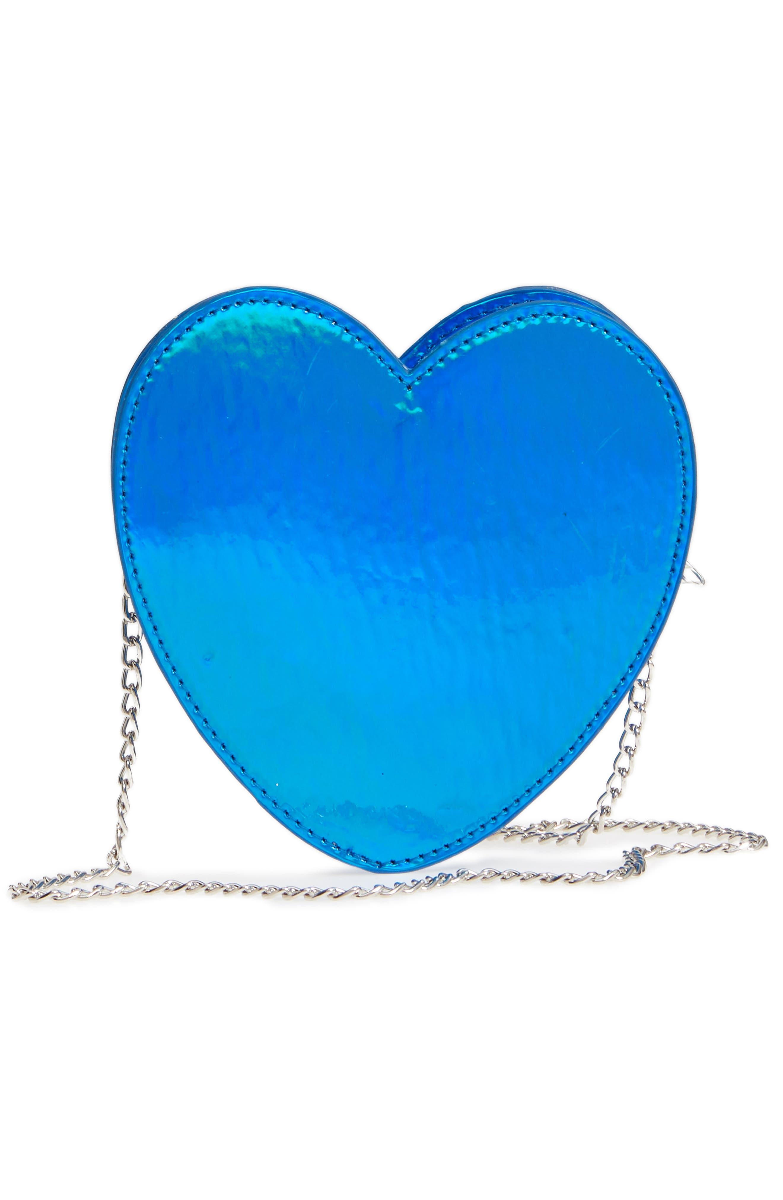 Heart Earth Crossbody Bag,                             Alternate thumbnail 2, color,                             Blue Combo