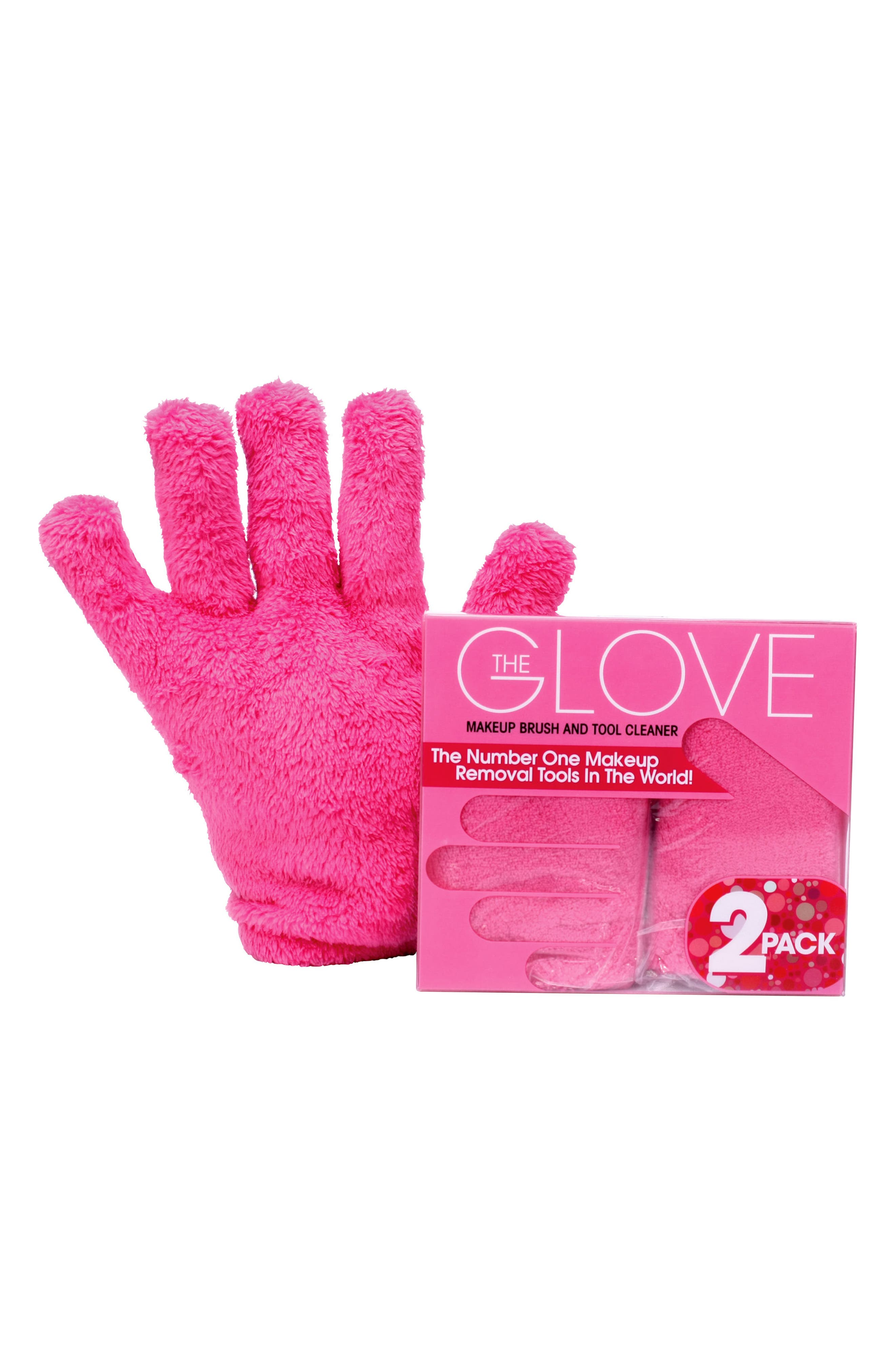 2-Pack The Glove Makeup Brush and Tool Cleaner,                         Main,                         color, No Color