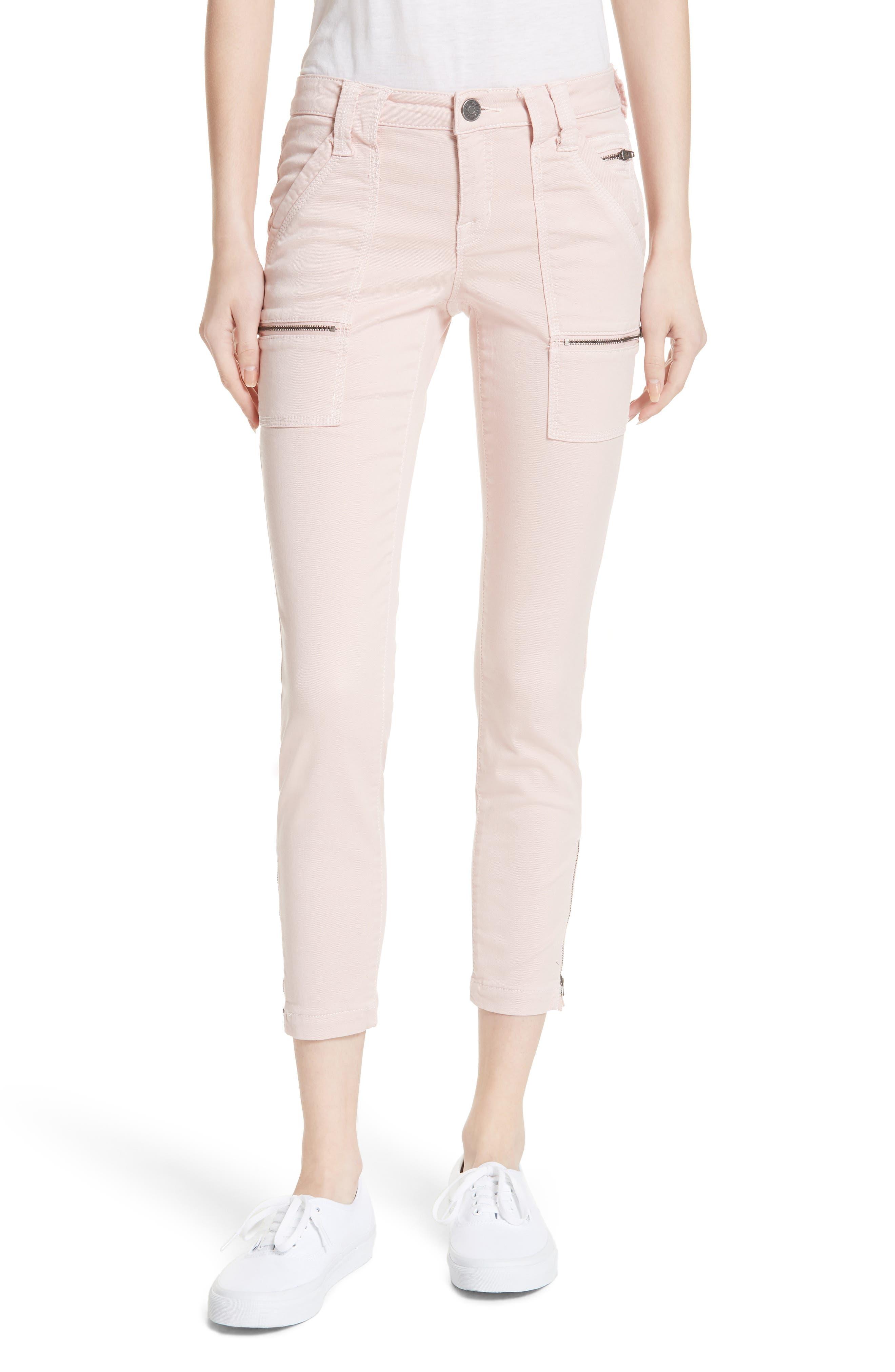 Park Skinny Pants,                         Main,                         color, Washed Rose
