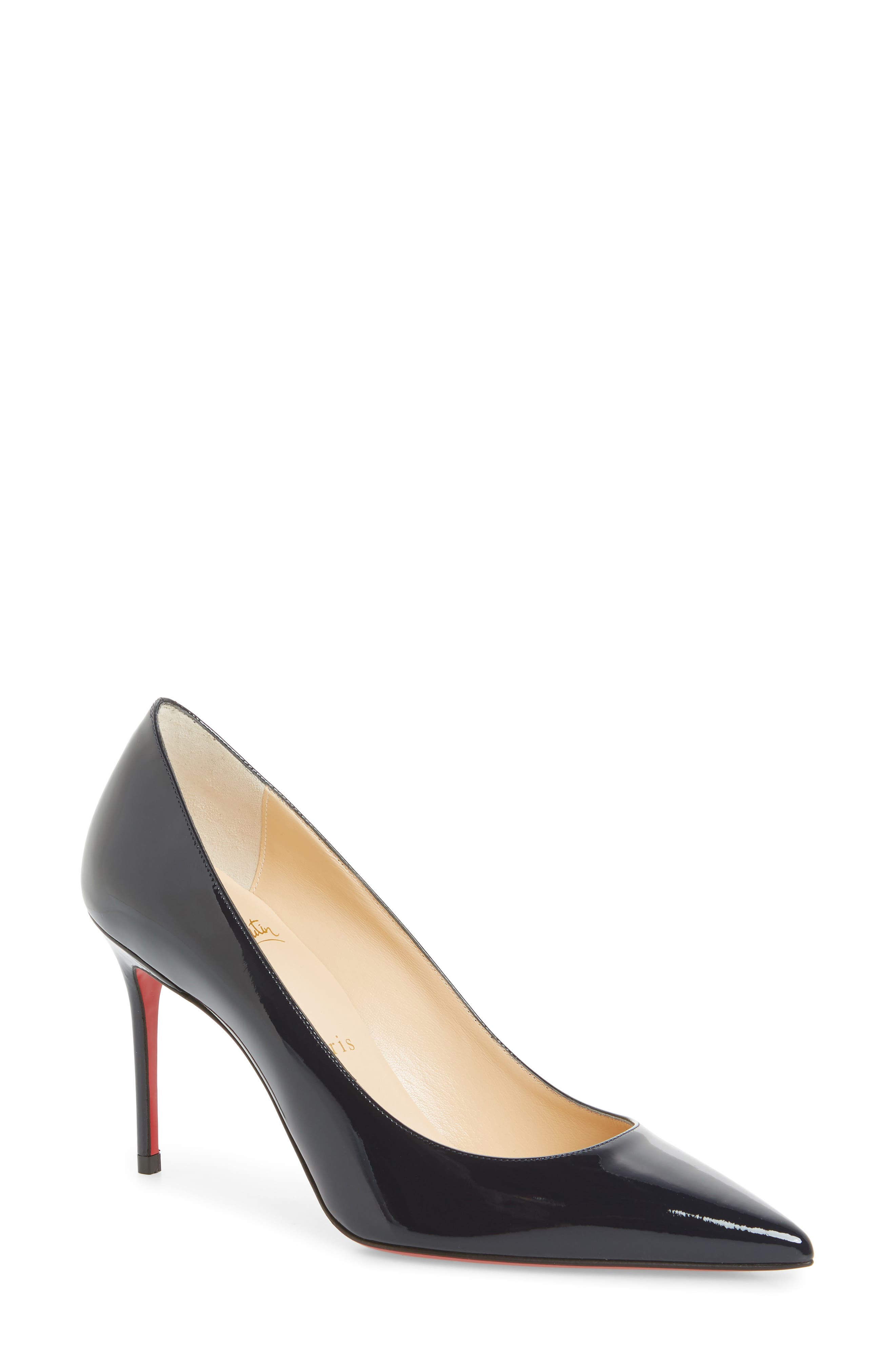5864bbeda4ca Christian Louboutin Decollete Pointy Toe Pump In Marine Blue
