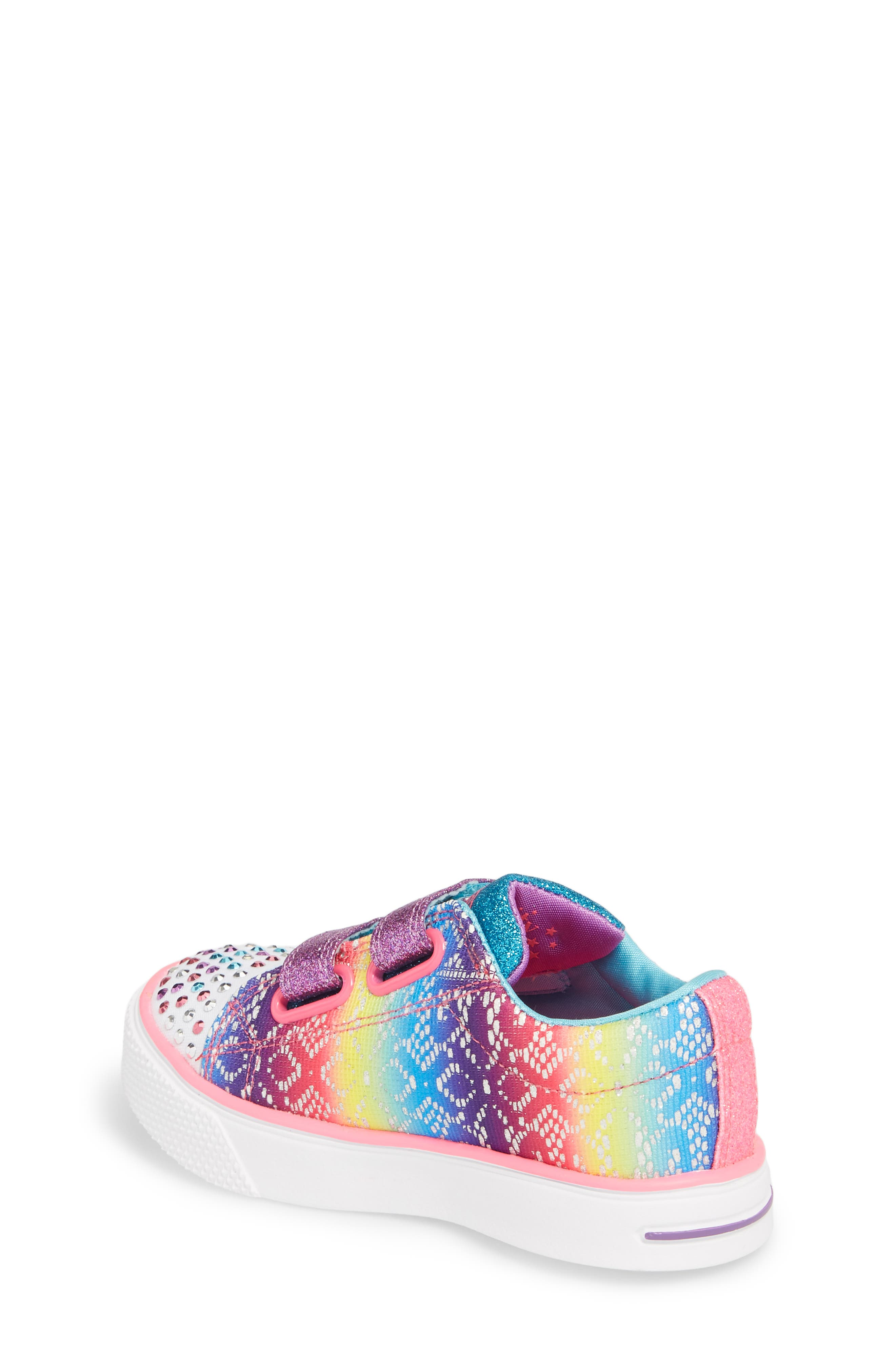 Twinkle Toes Breeze 2.0 Light-Up Sneaker,                             Alternate thumbnail 2, color,                             Multi
