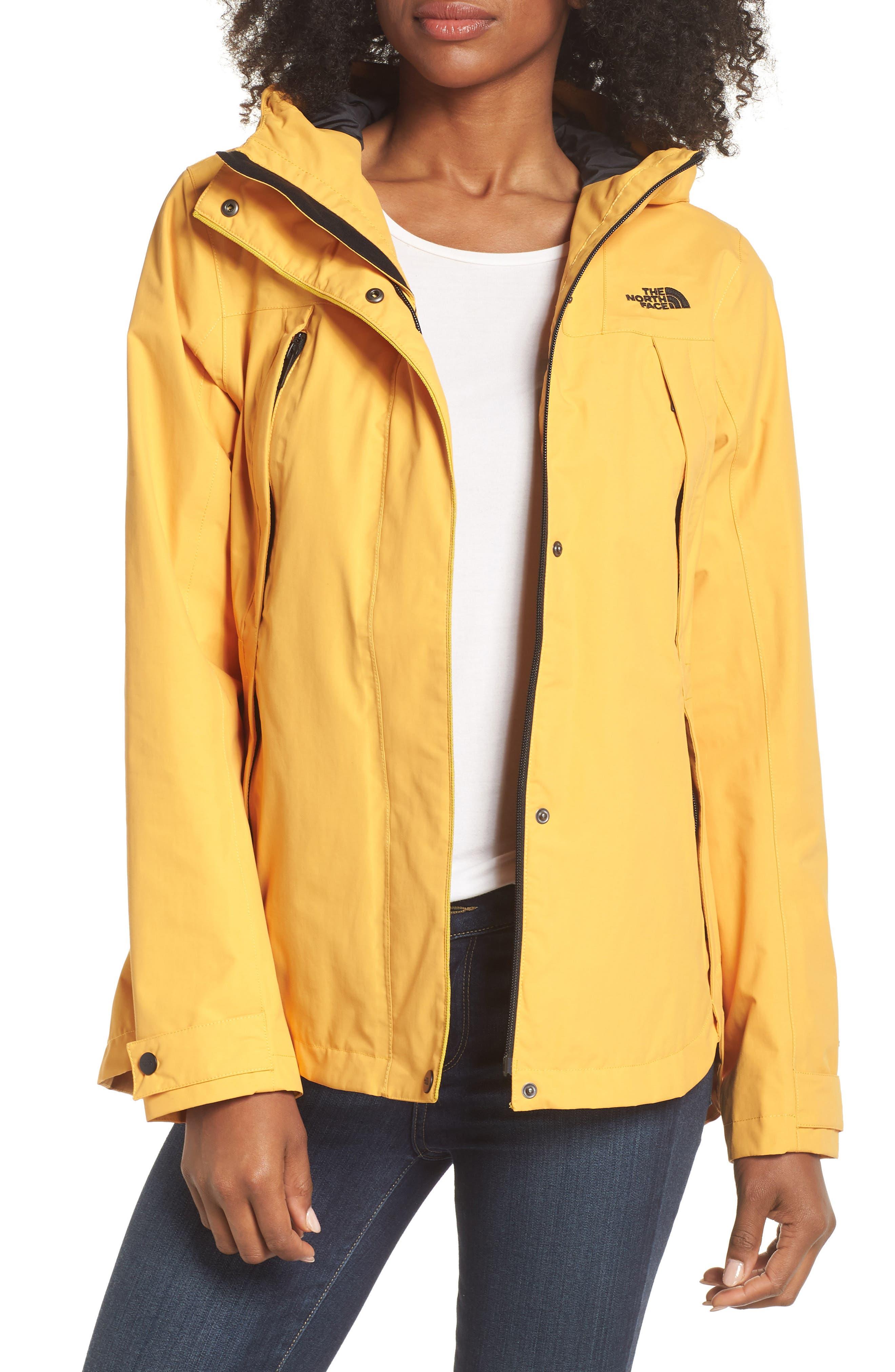 Ditmas Rain Jacket,                         Main,                         color, Yellow