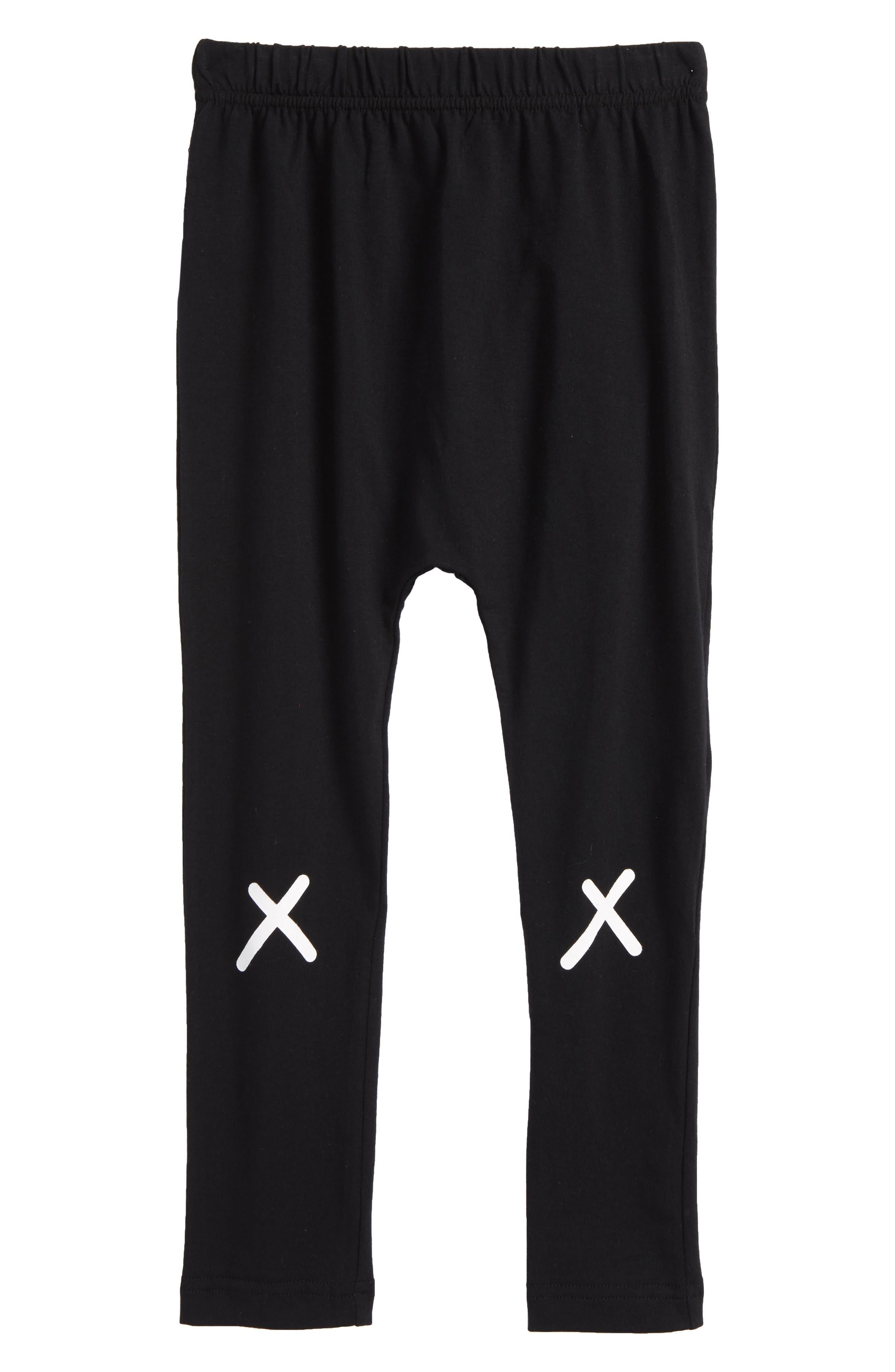 Crisscross Sweatpants,                             Main thumbnail 1, color,                             Black