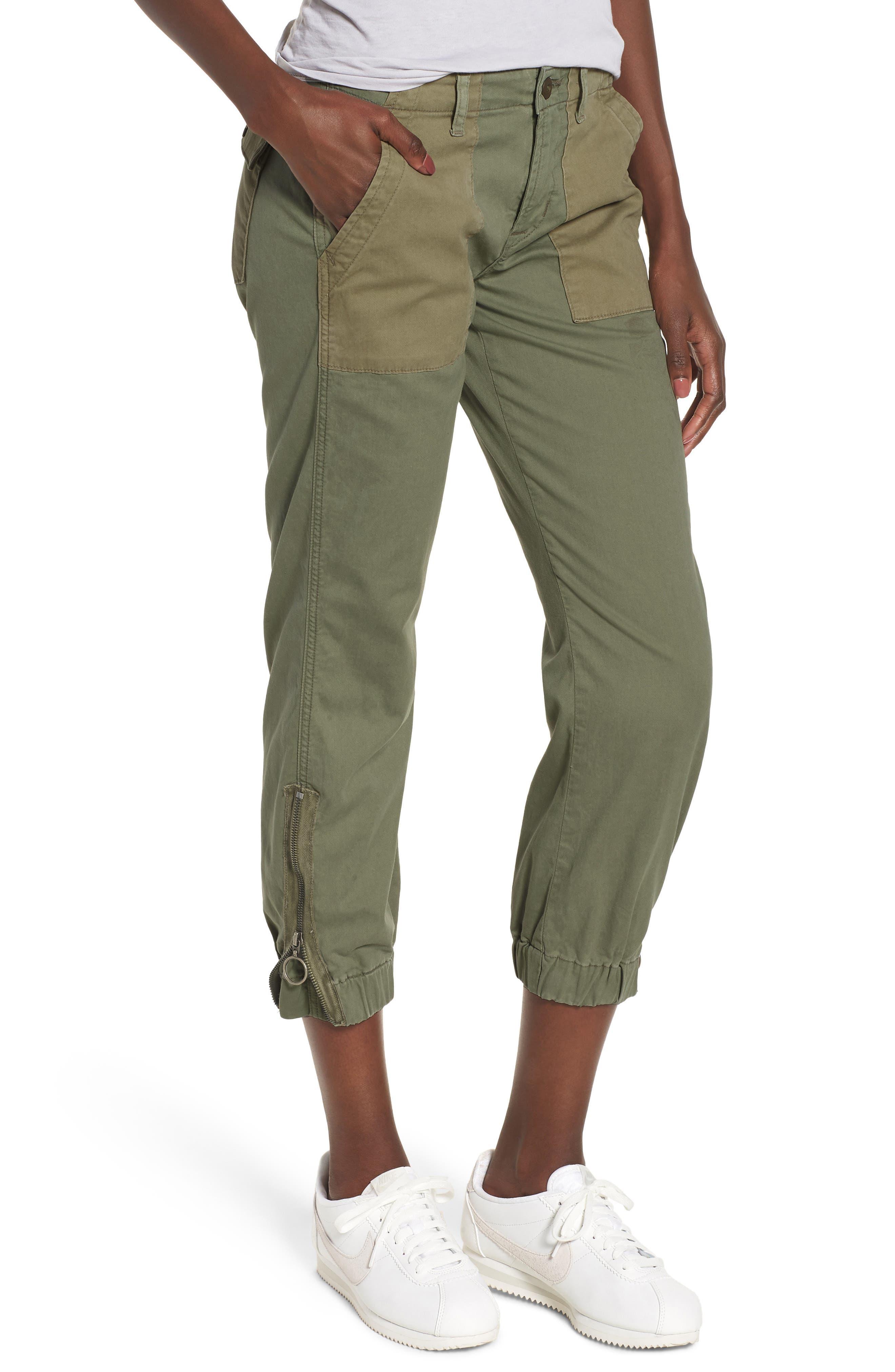 Jaclyn Flight Pants,                         Main,                         color, Olive Remix