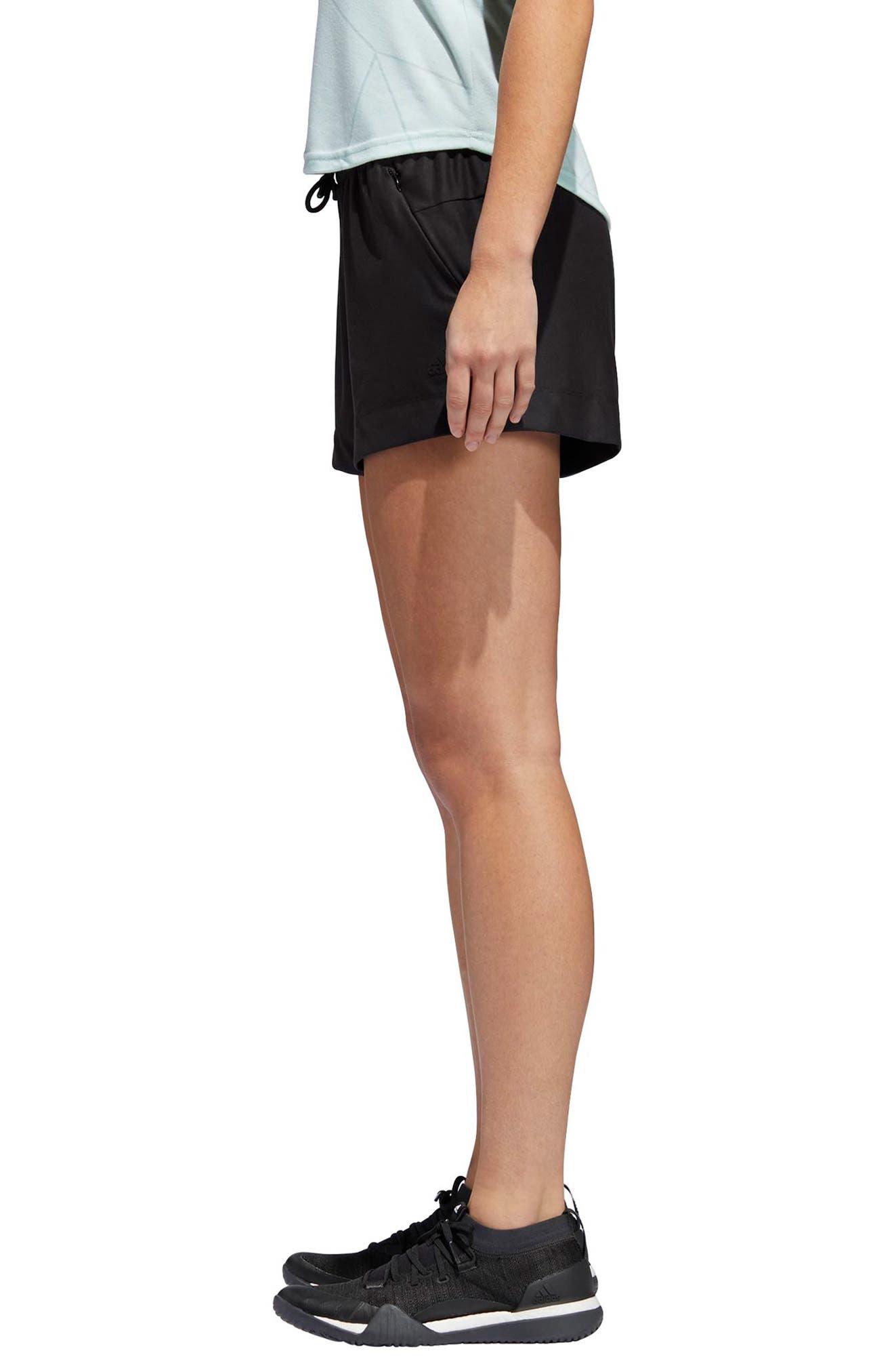 ID Mesh Shorts,                             Alternate thumbnail 3, color,                             Black