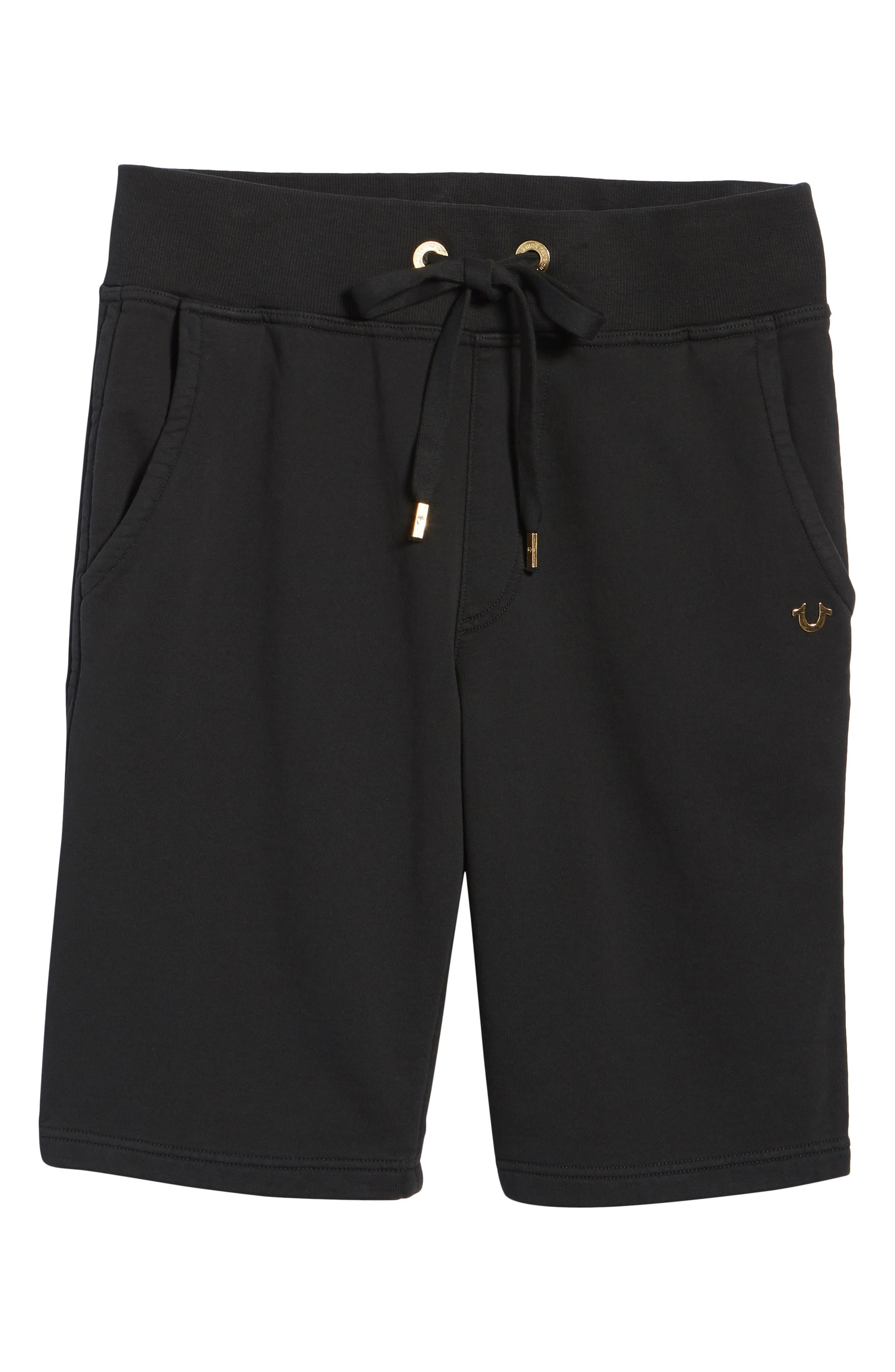 Core Shorts,                             Alternate thumbnail 6, color,                             True Black