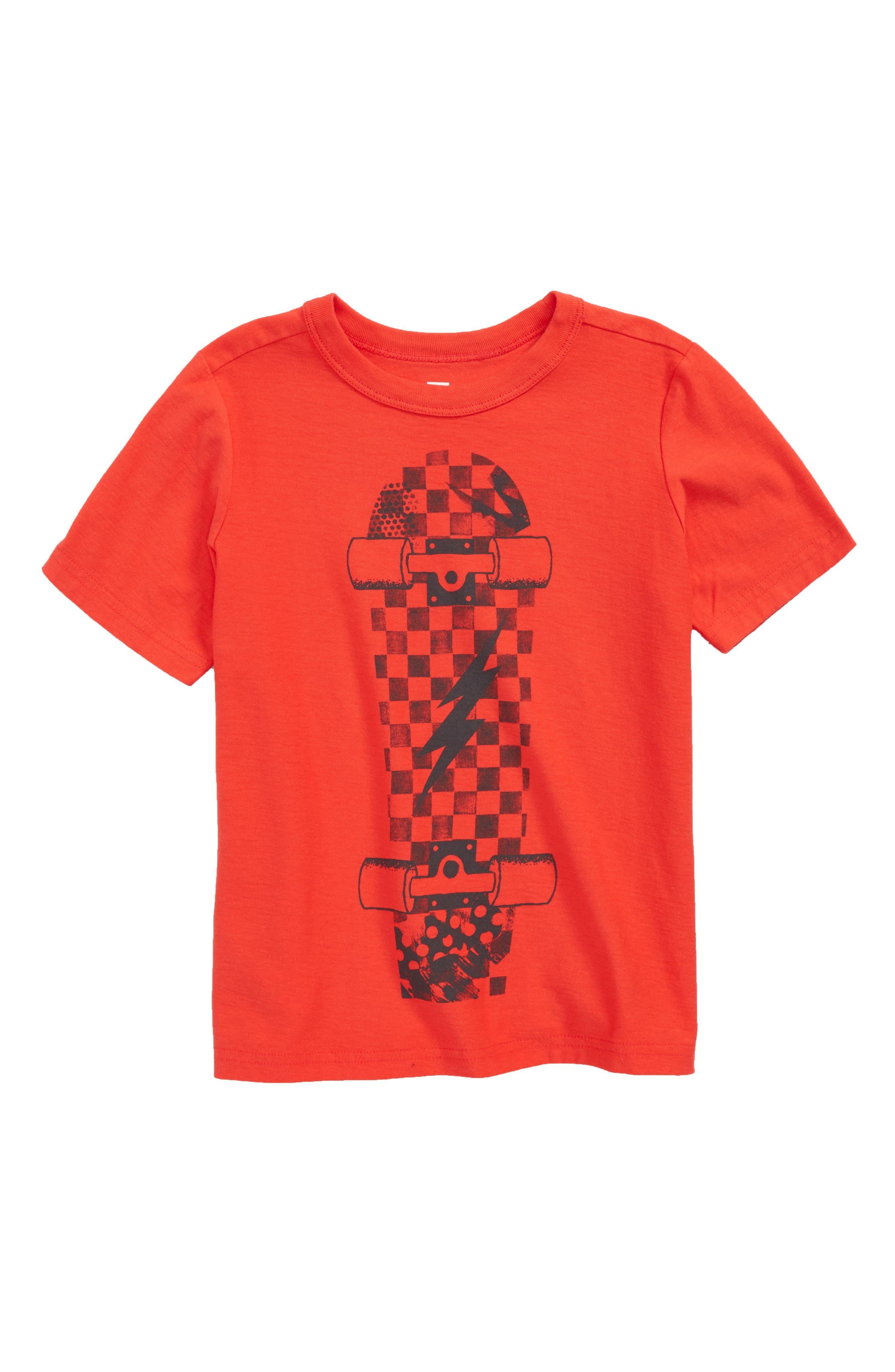 Tea Collection Skateboard T-Shirt (Toddler Boys, Little Boys & Big Boys)