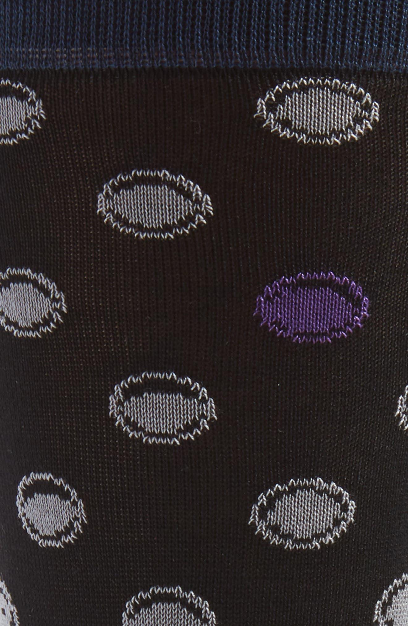 Alternate Image 2  - Bugatchi Dot Socks