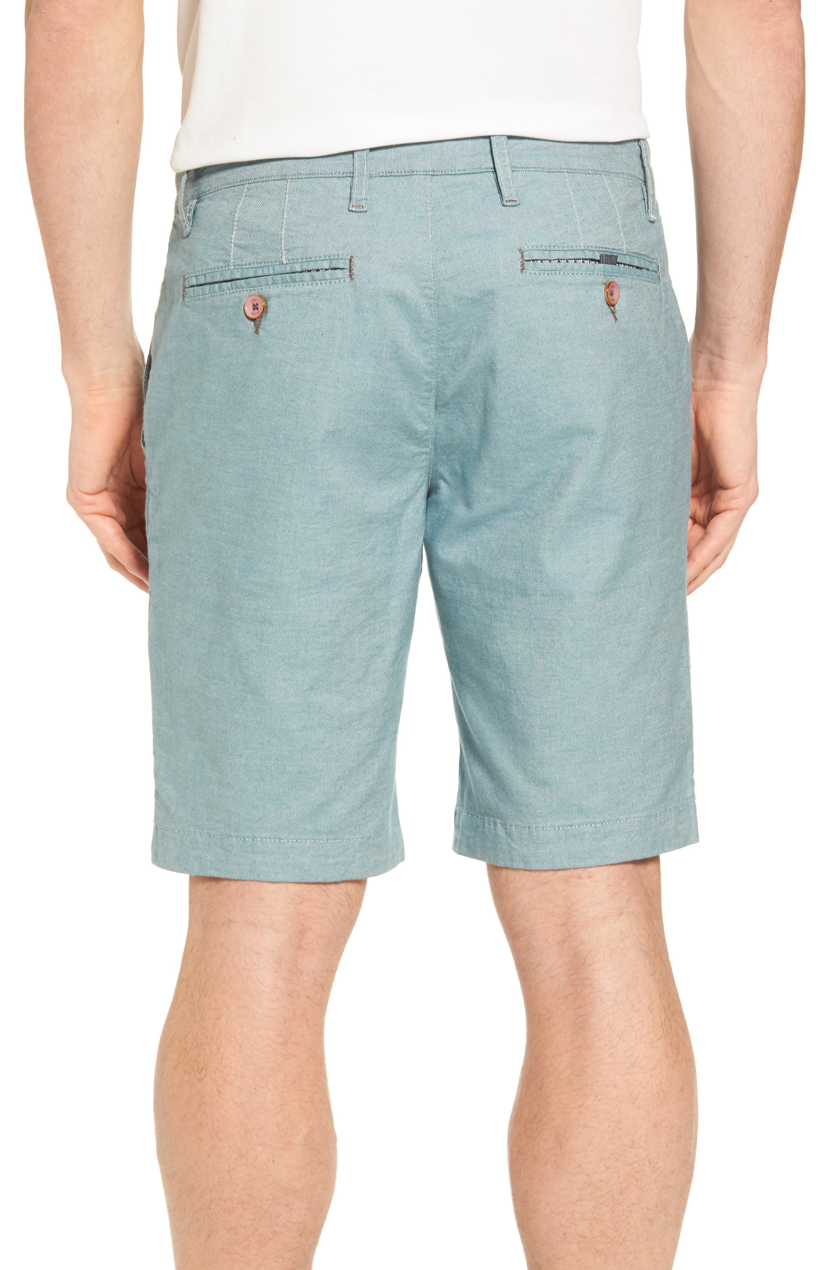 Alternate Image 2  - Ted Baker London Herbott Stretch Cotton Shorts