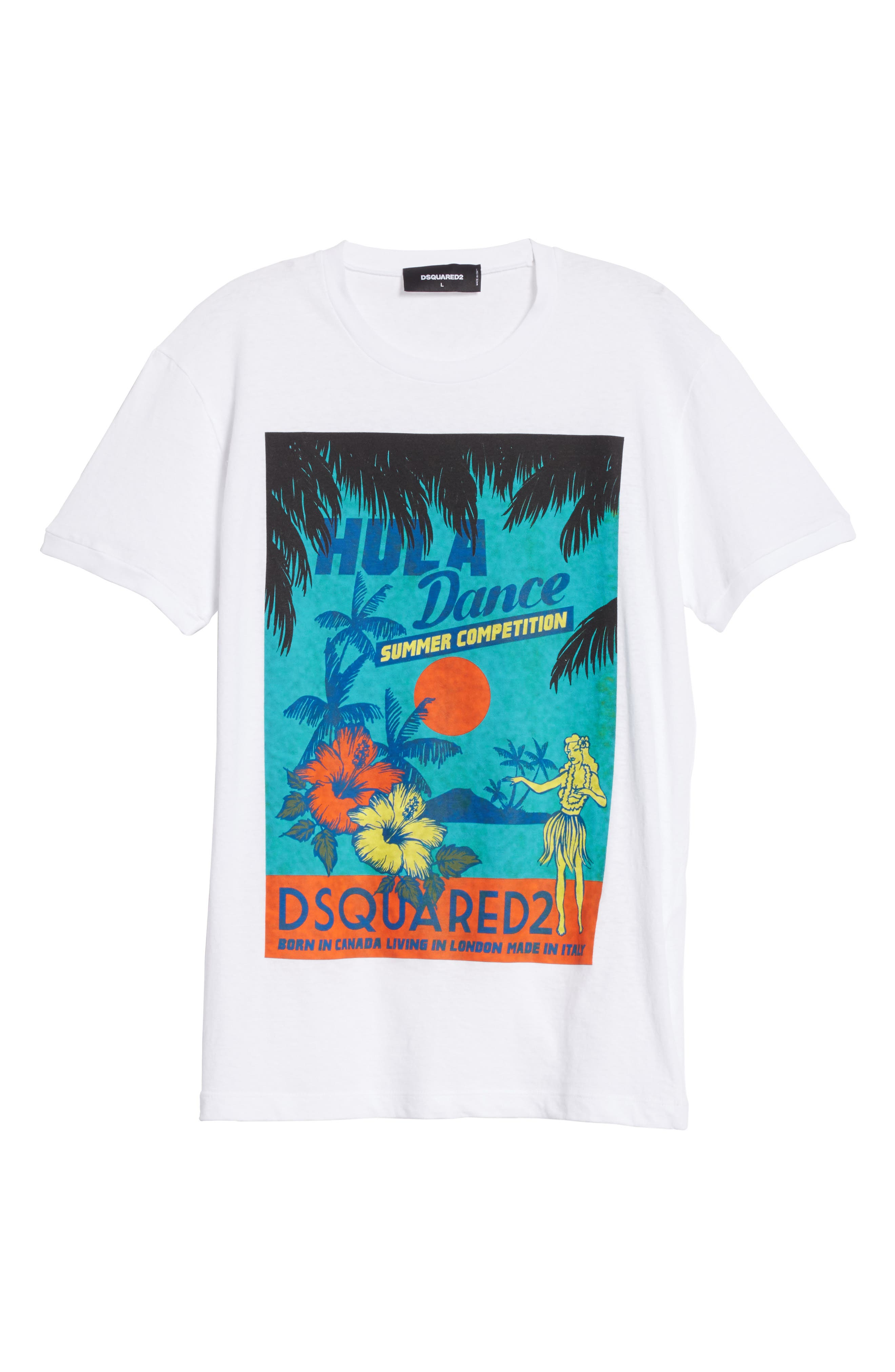Alternate Image 6  - Dsquared2 Hula Graphic T-Shirt