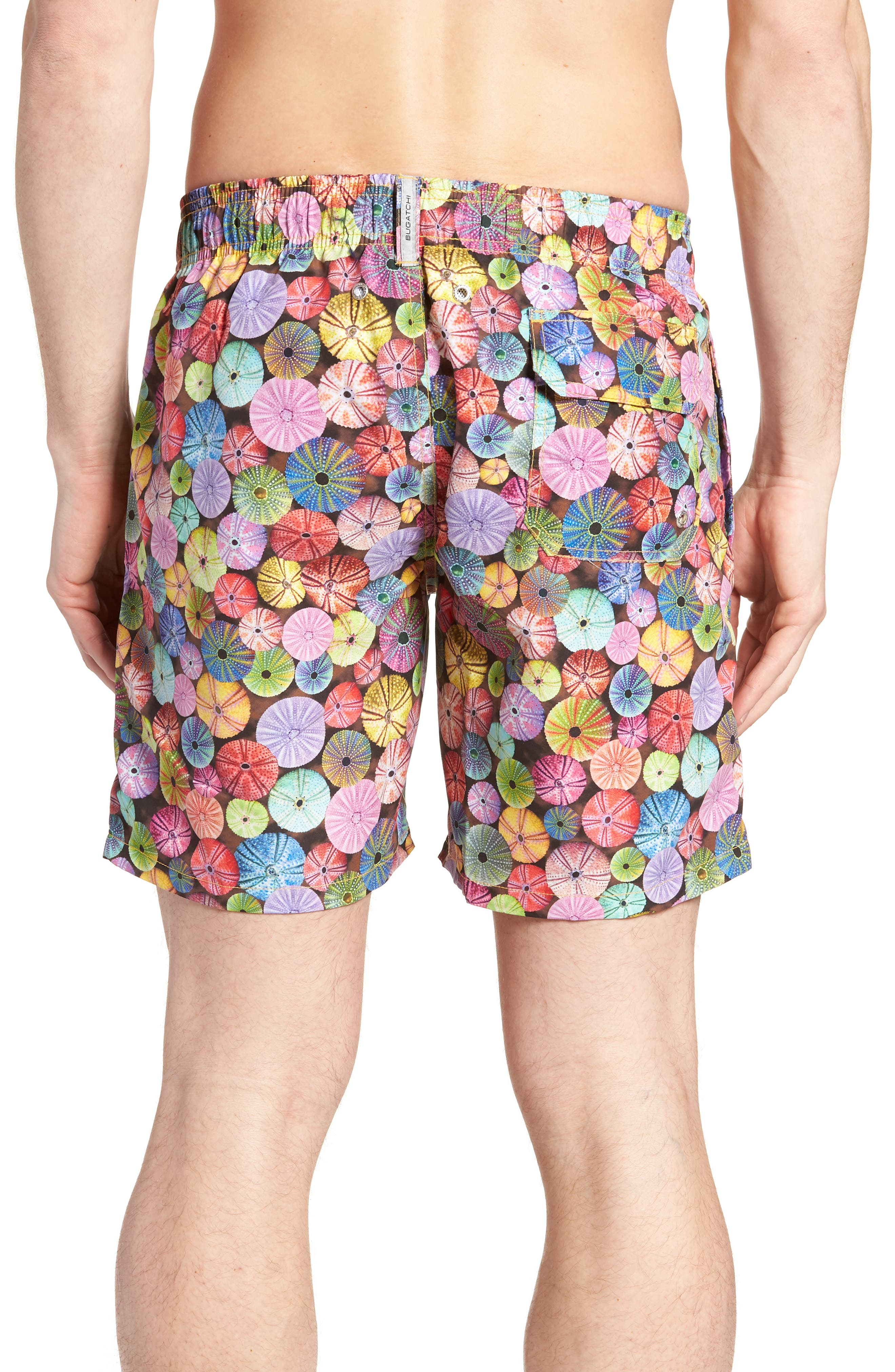 Swim Trunks,                             Alternate thumbnail 2, color,                             Candy