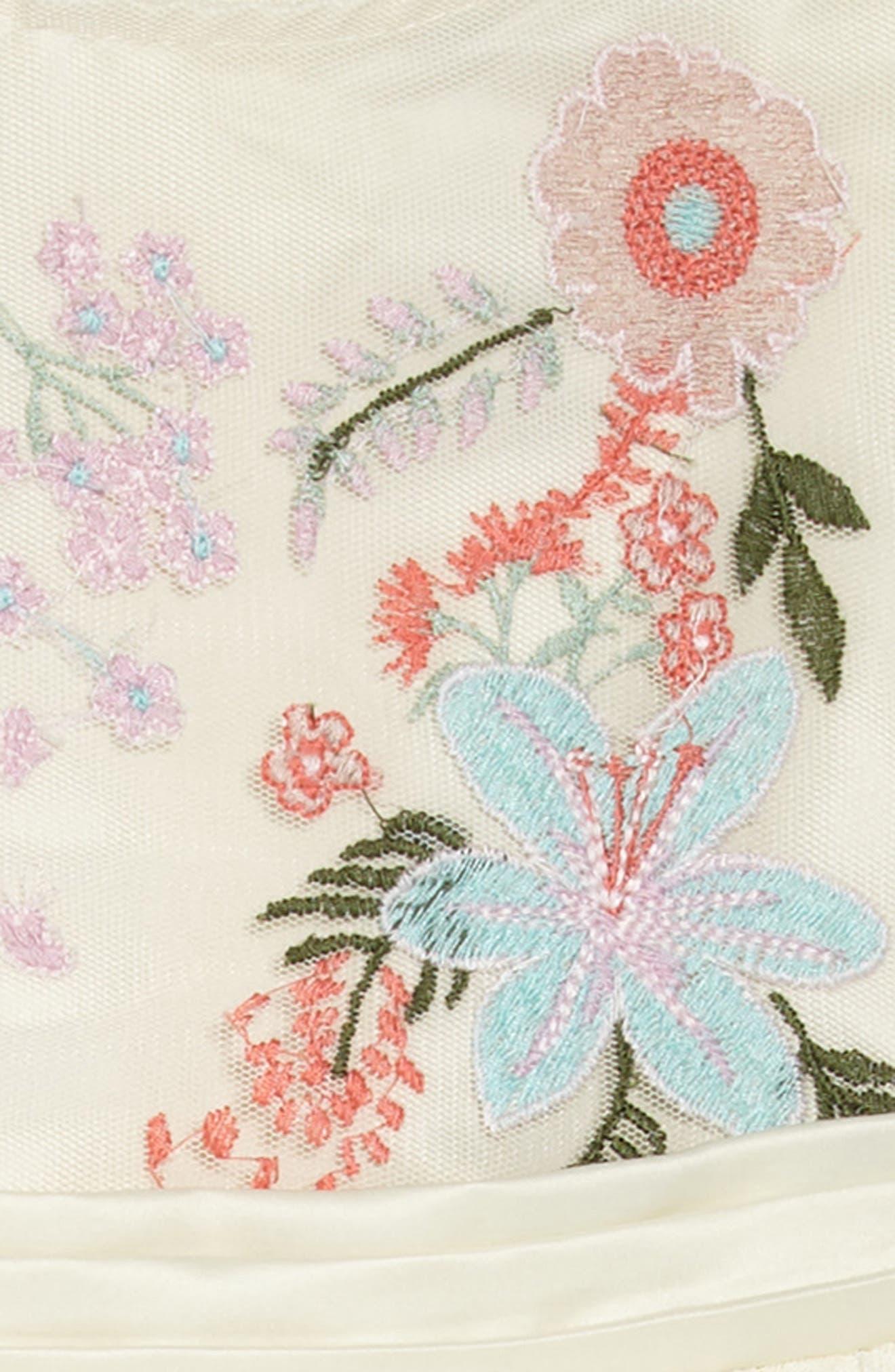 Alternate Image 3  - Nanette Lepore Flower Embroidered Party Dress (Toddler Girls & Little Girls)