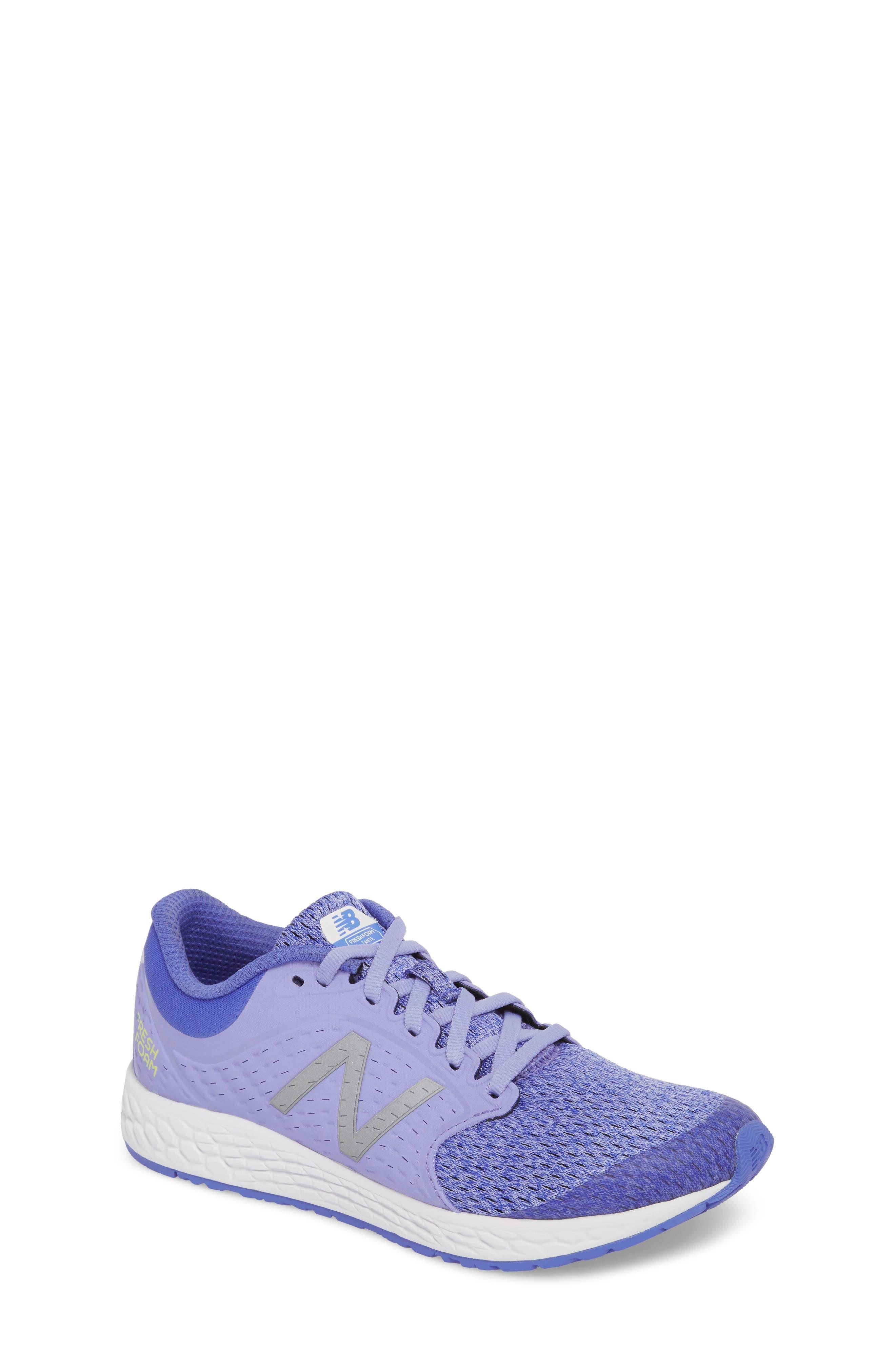 Fresh Foam Zante v4 Running Shoe,                             Main thumbnail 1, color,                             Ice Violet