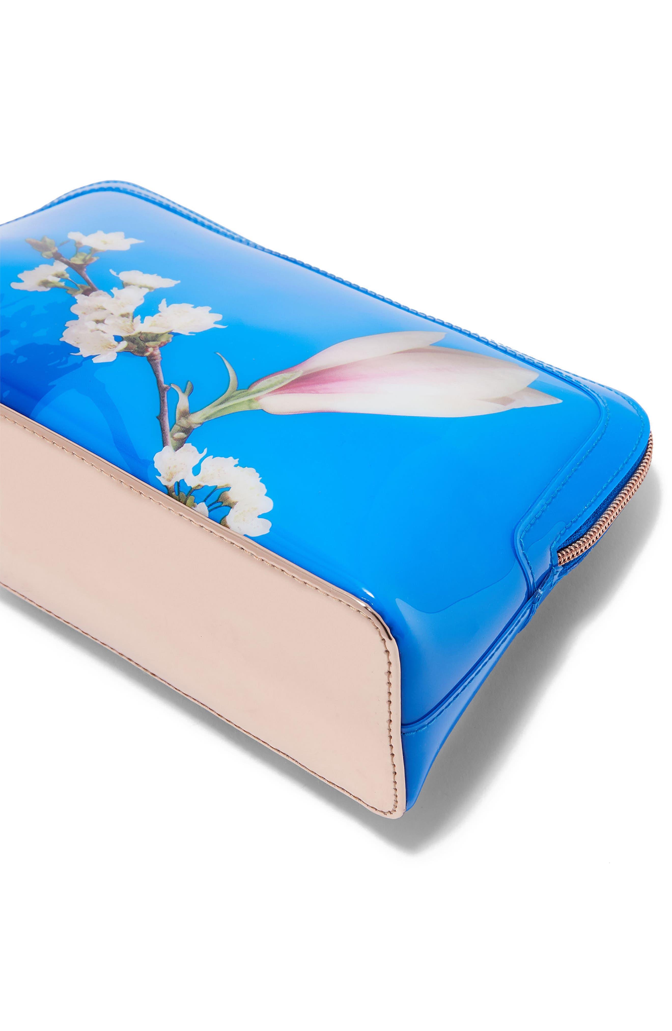 Daisyy – Harmony Wash Bag,                             Alternate thumbnail 4, color,                             Bright Blue
