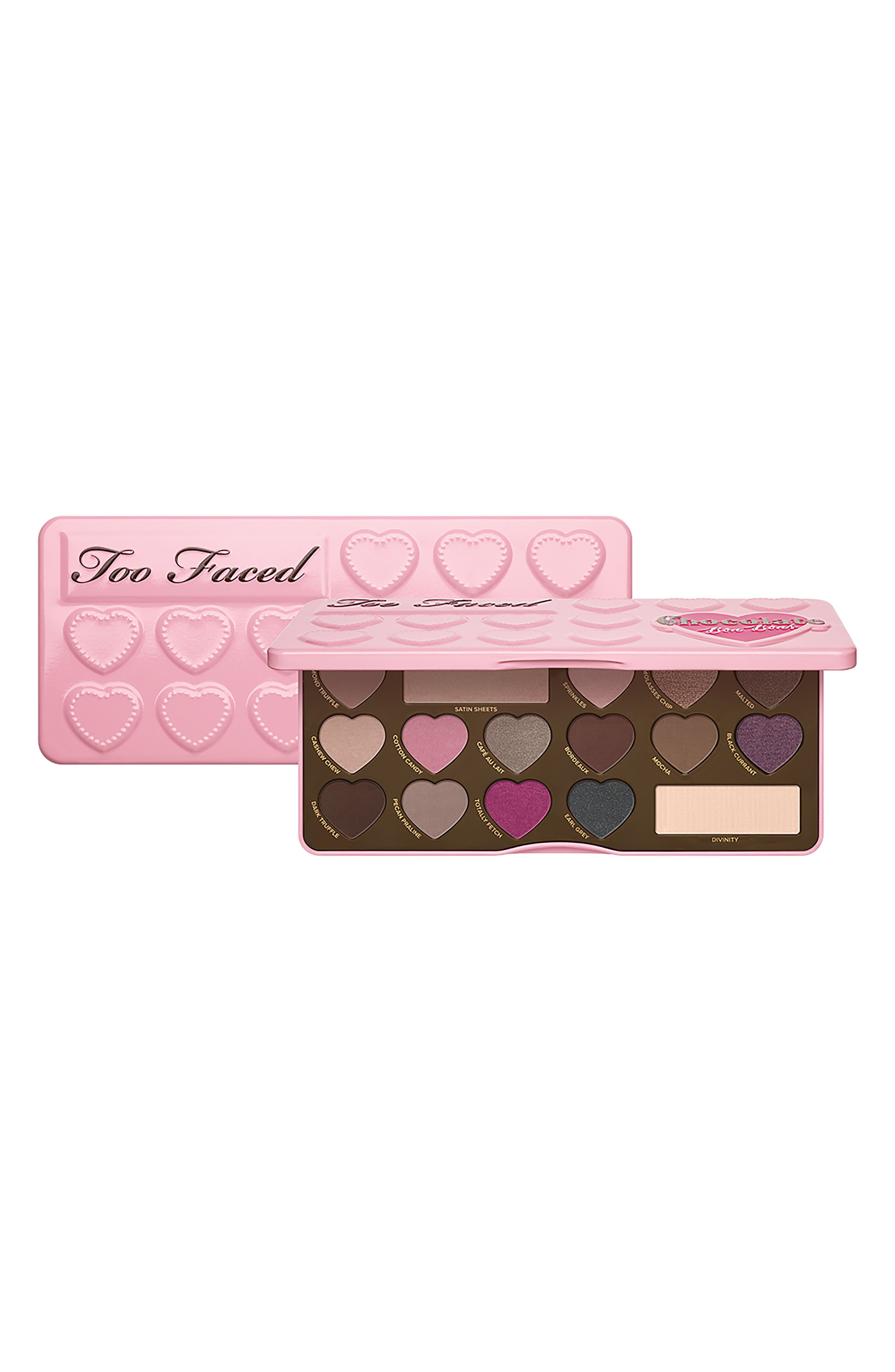 Chocolate Bon Bons Eyeshadow Palette,                             Alternate thumbnail 6, color,                             No Color
