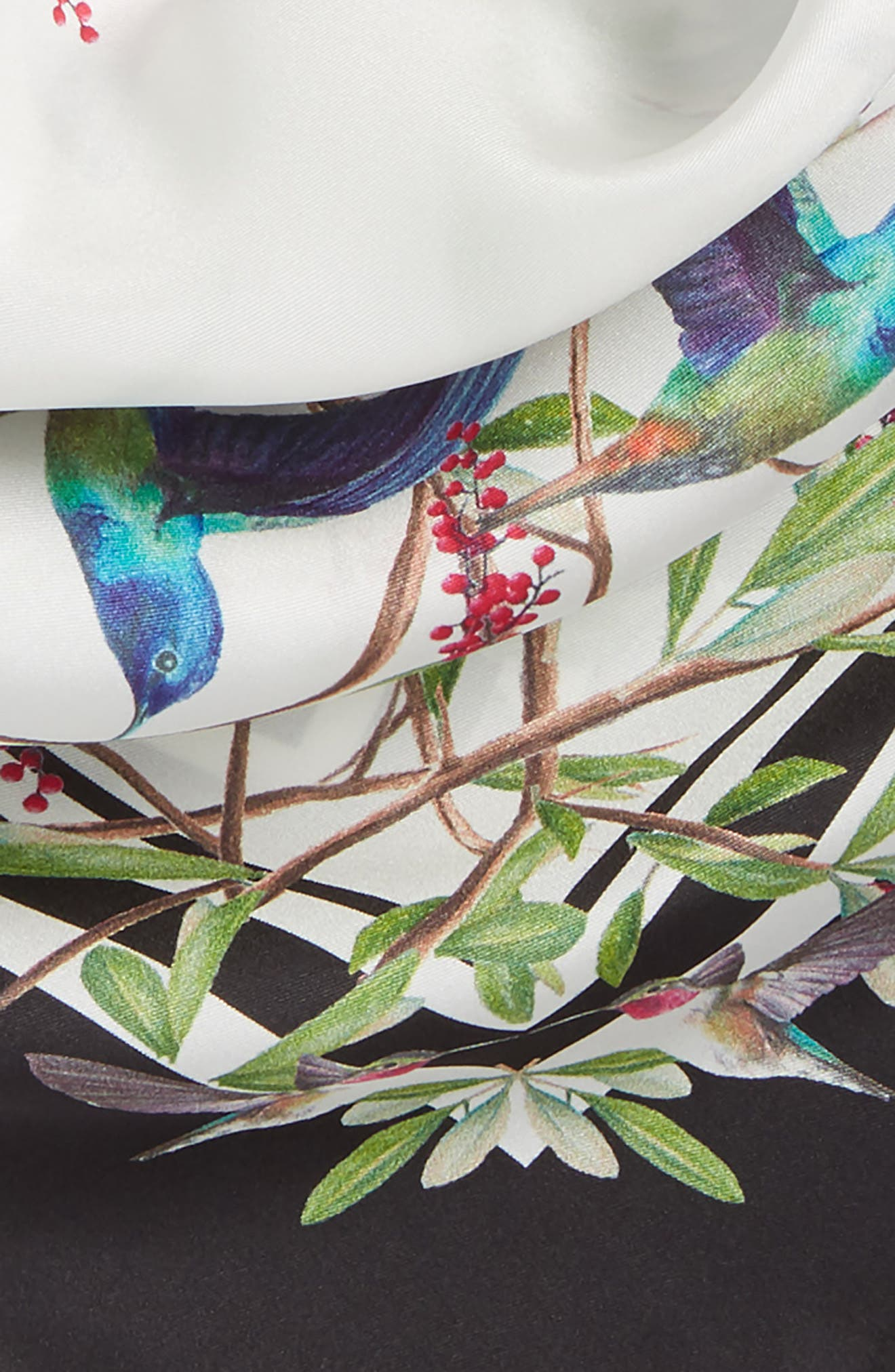 Alternate Image 3  - Ted Baker London Highgrove Square Silk Scarf
