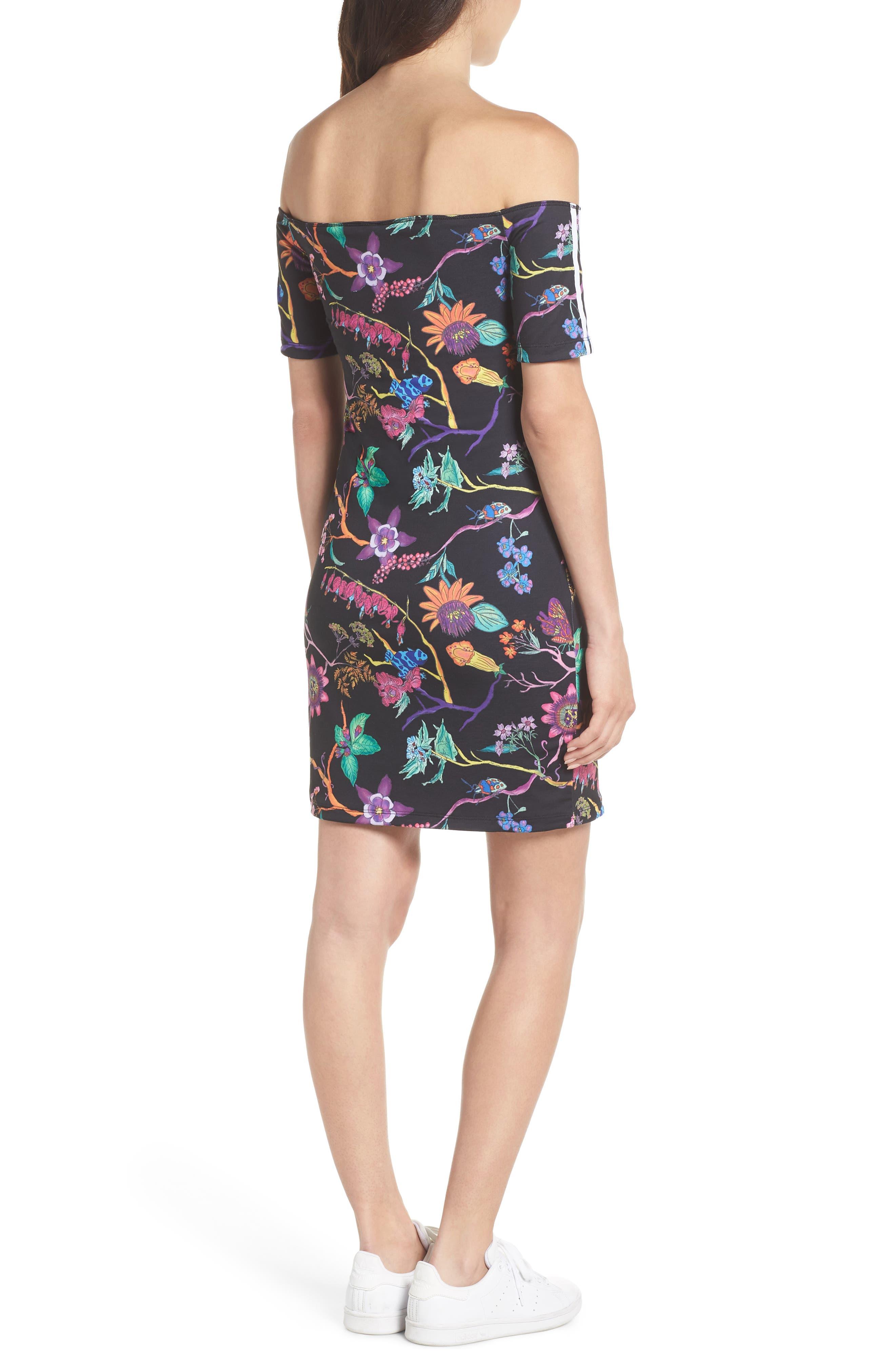 Alternate Image 3  - adidas Originals Reversible Off the Shoulder Dress