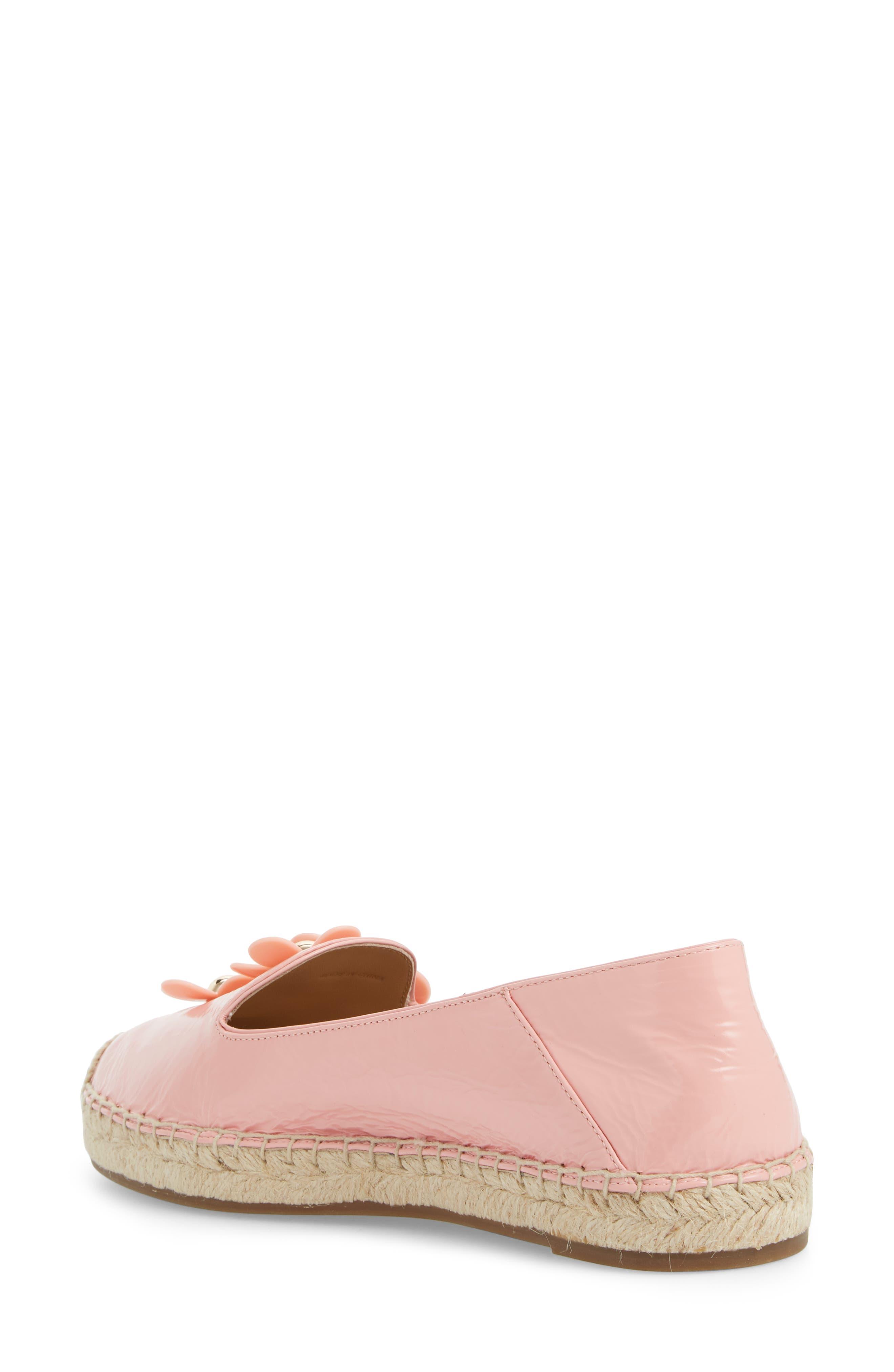 Daisy Studded Espadrille,                             Alternate thumbnail 2, color,                             Light Pink