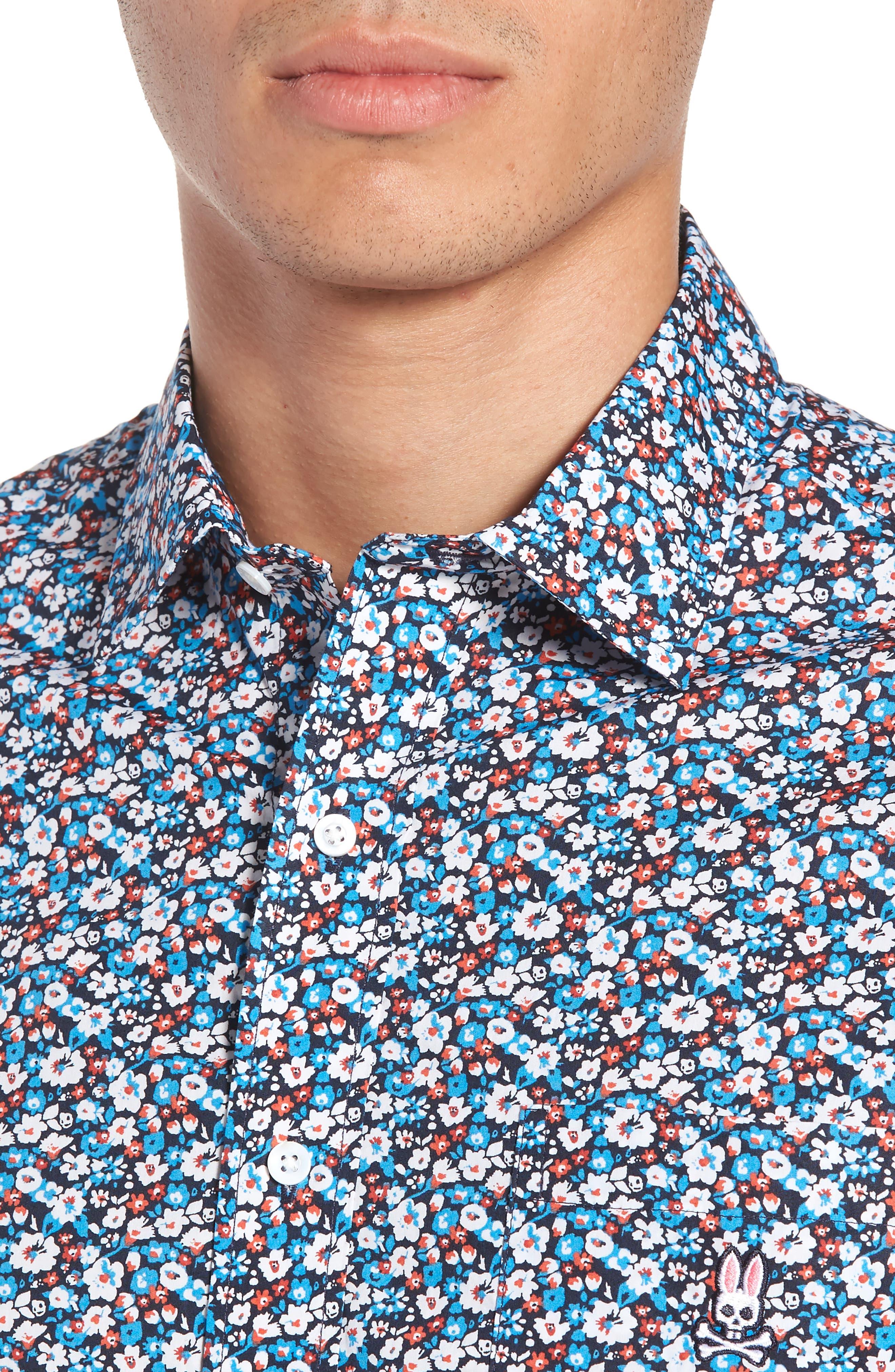 Woven Shirt,                             Alternate thumbnail 2, color,                             Navy