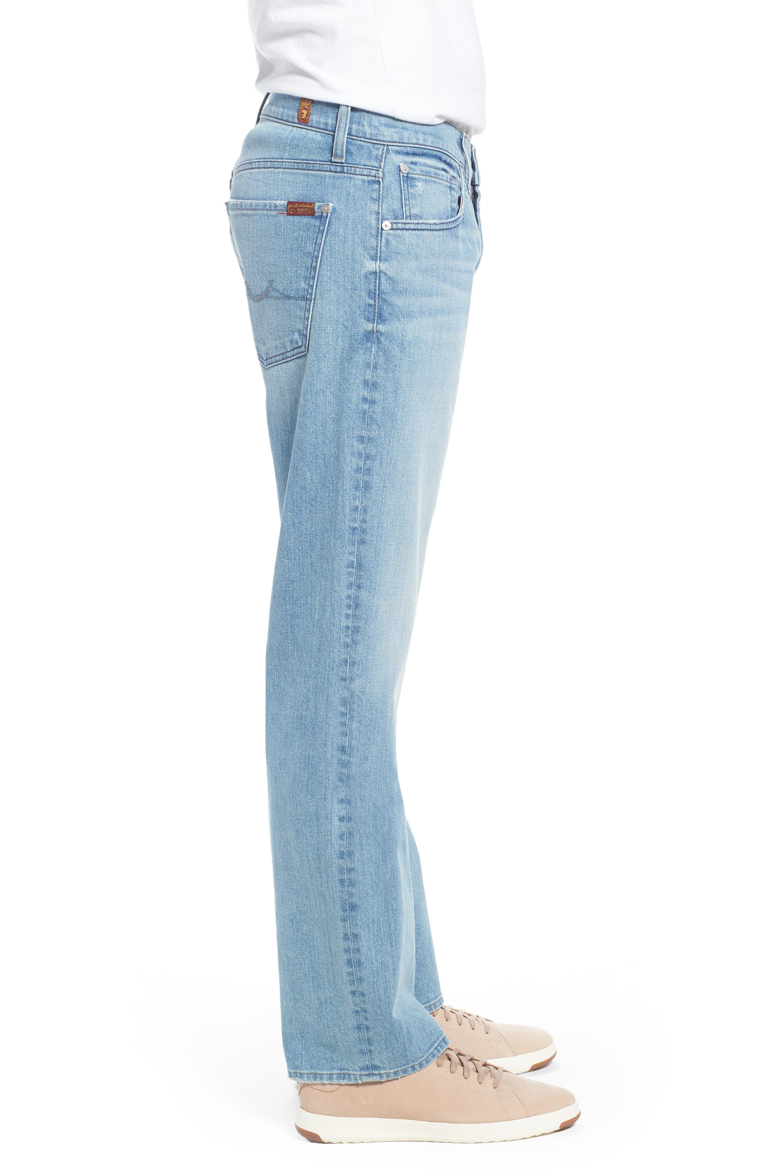 Austyn Relaxed Fit Jeans,                             Alternate thumbnail 3, color,                             Omega