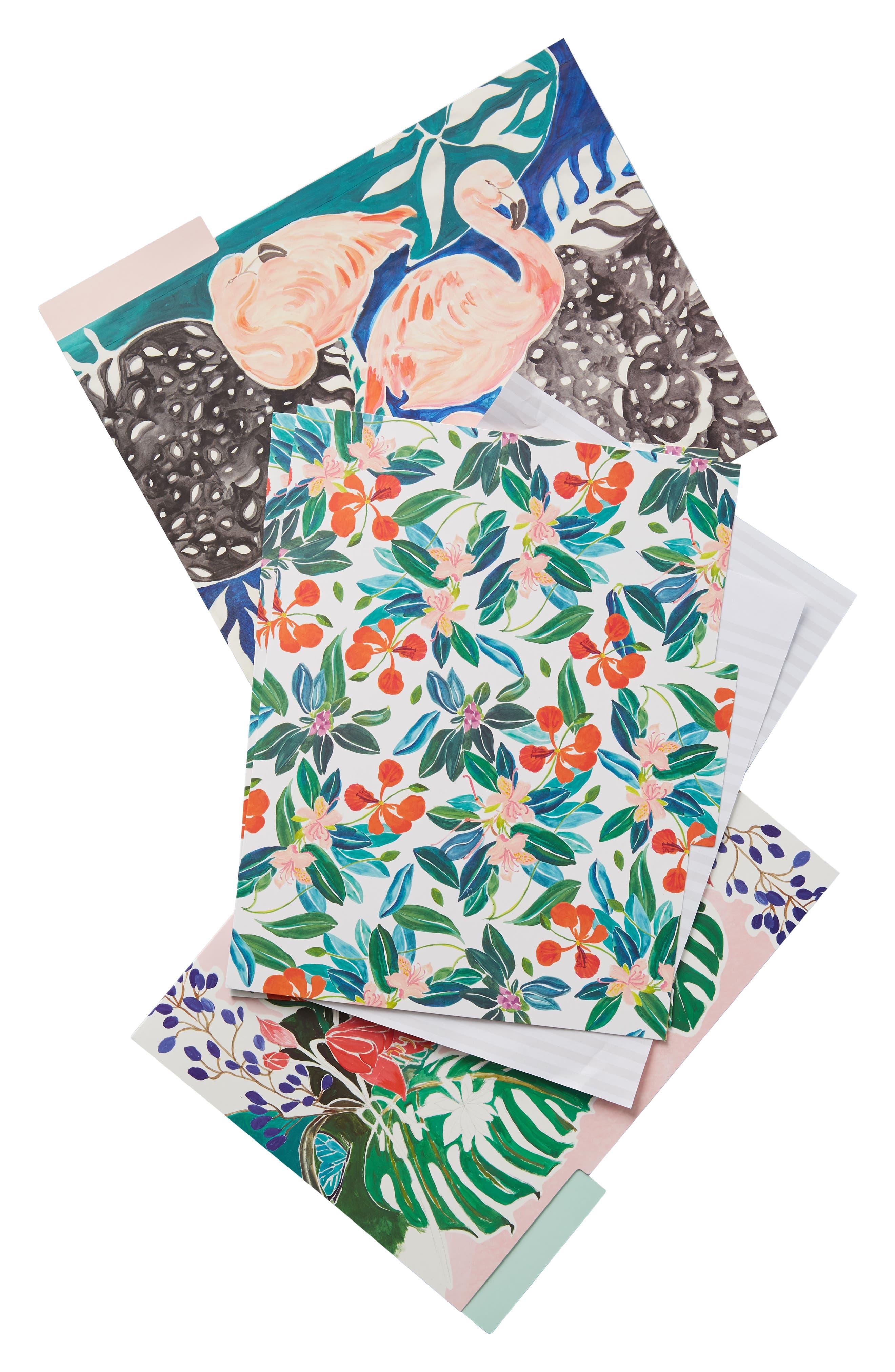 Sisters Gulassa 6-Pack File Folders,                             Alternate thumbnail 3, color,                             Green