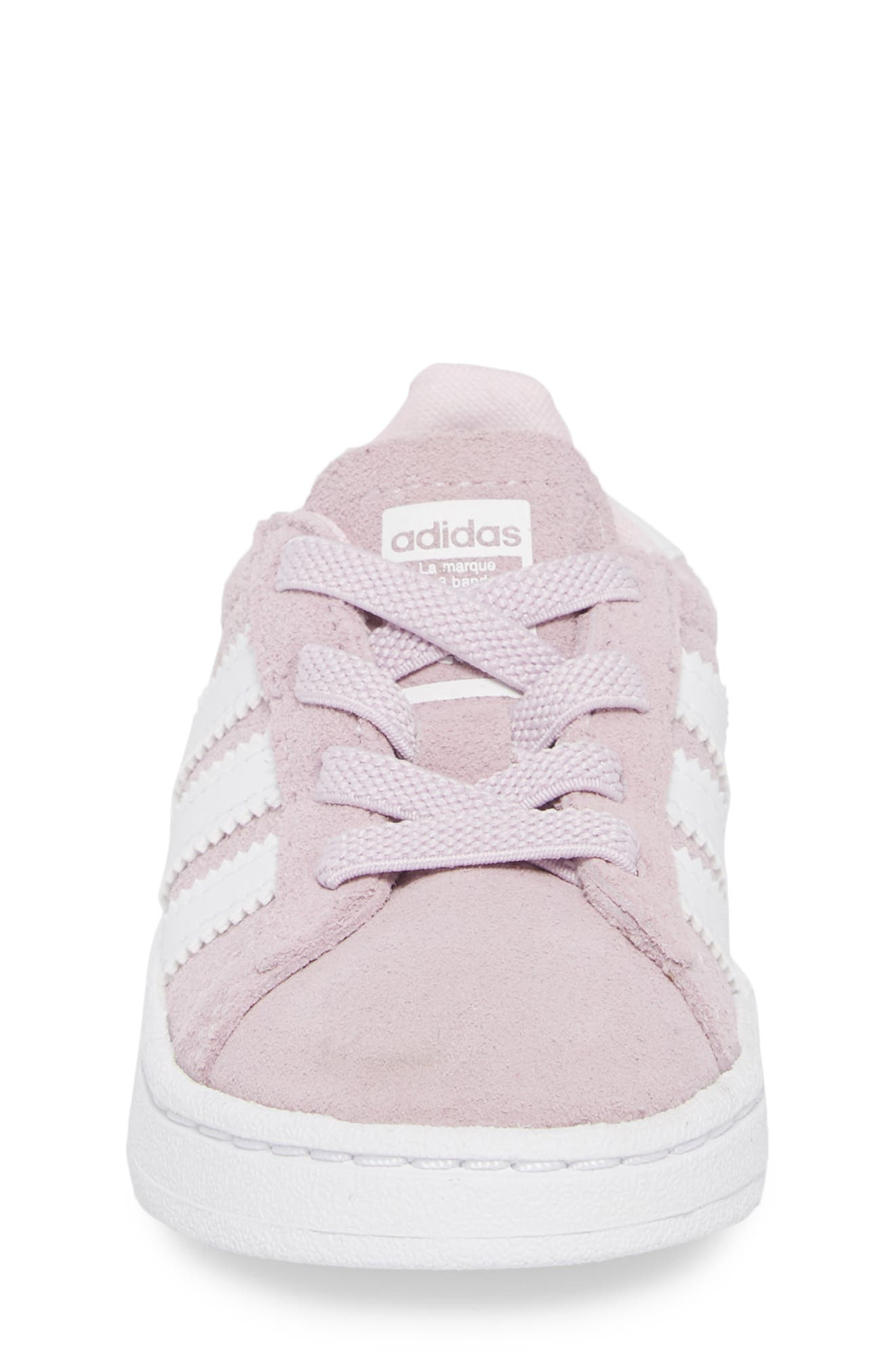 Campus J Sneaker,                             Alternate thumbnail 4, color,                             Aero Pink / White / White