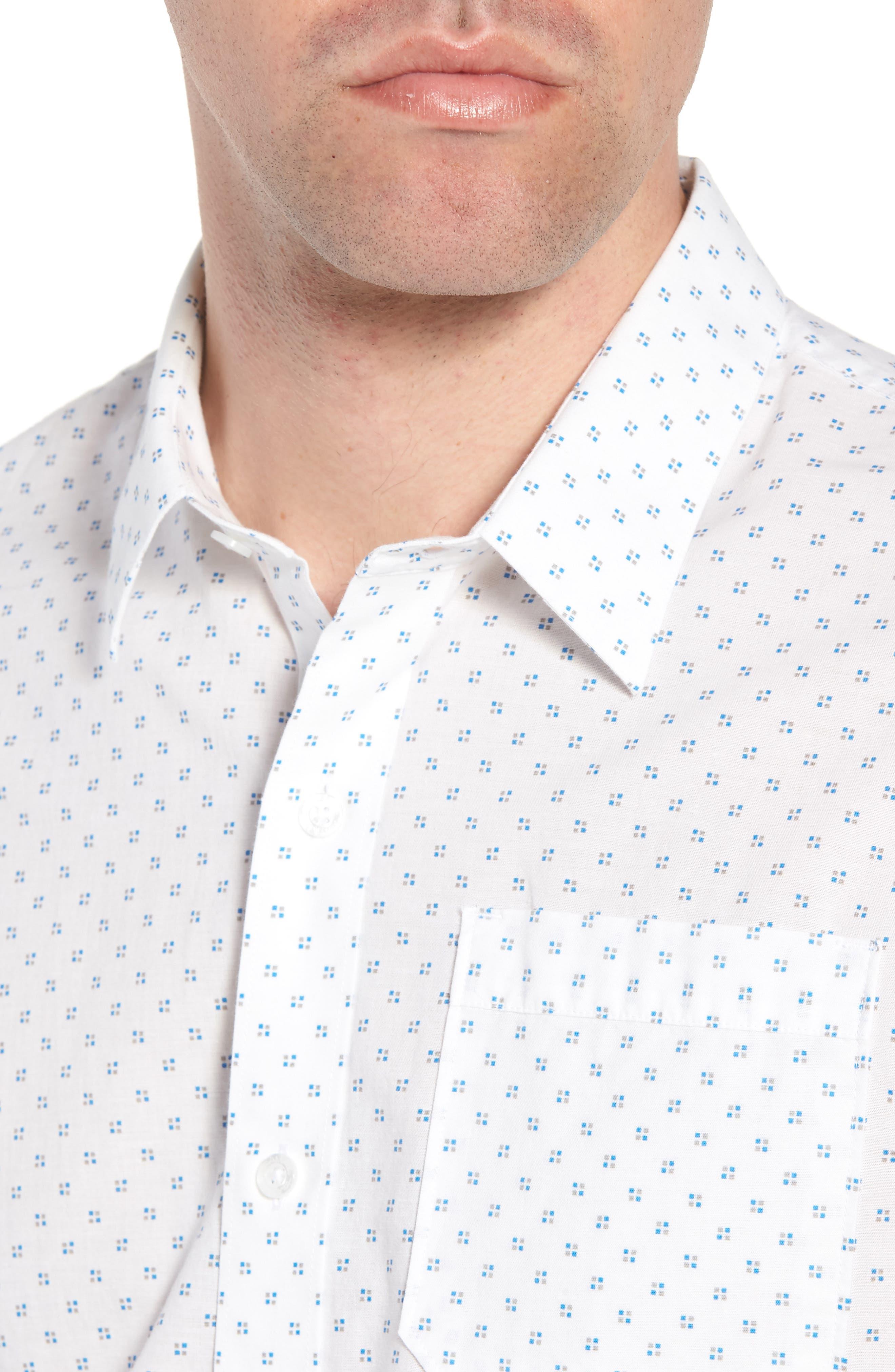 Nangs Print Sport Shirt,                             Alternate thumbnail 2, color,                             White