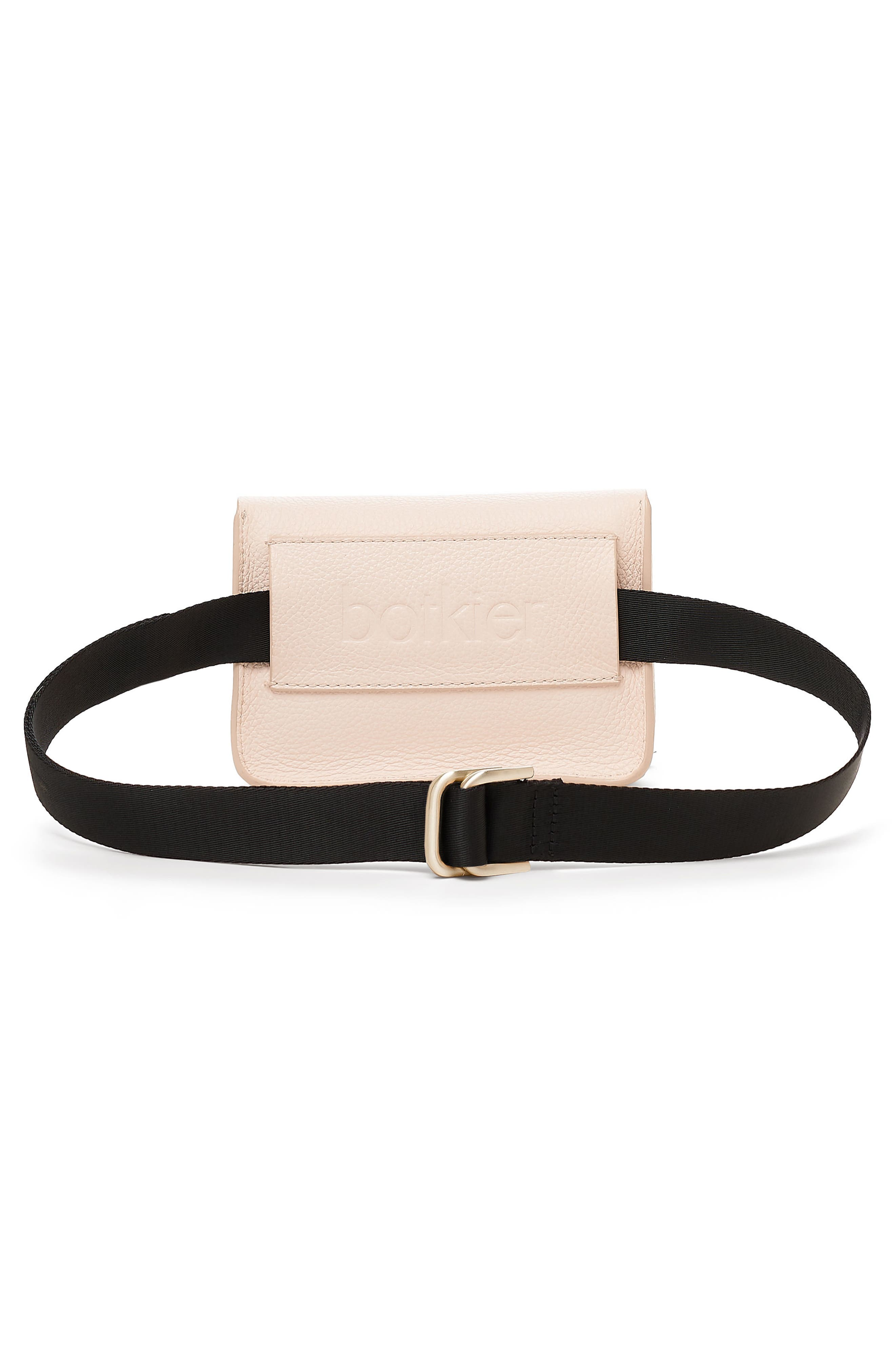 Vivi Calfskin Leather Convertible Belt Bag,                             Alternate thumbnail 2, color,                             Blossom