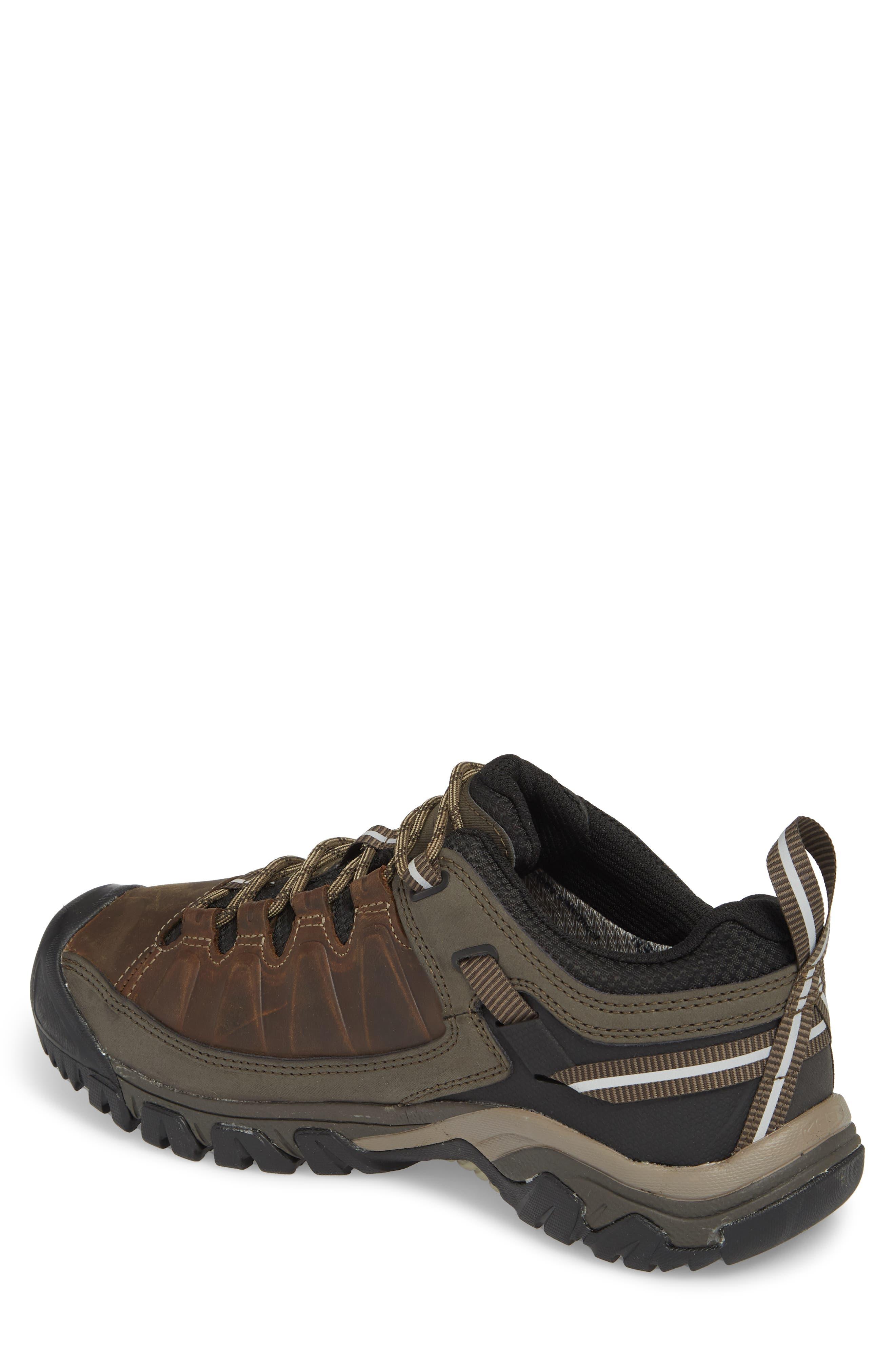 Targhee III Waterproof Hiking Shoe,                             Alternate thumbnail 2, color,                             Bungee Cord/Black