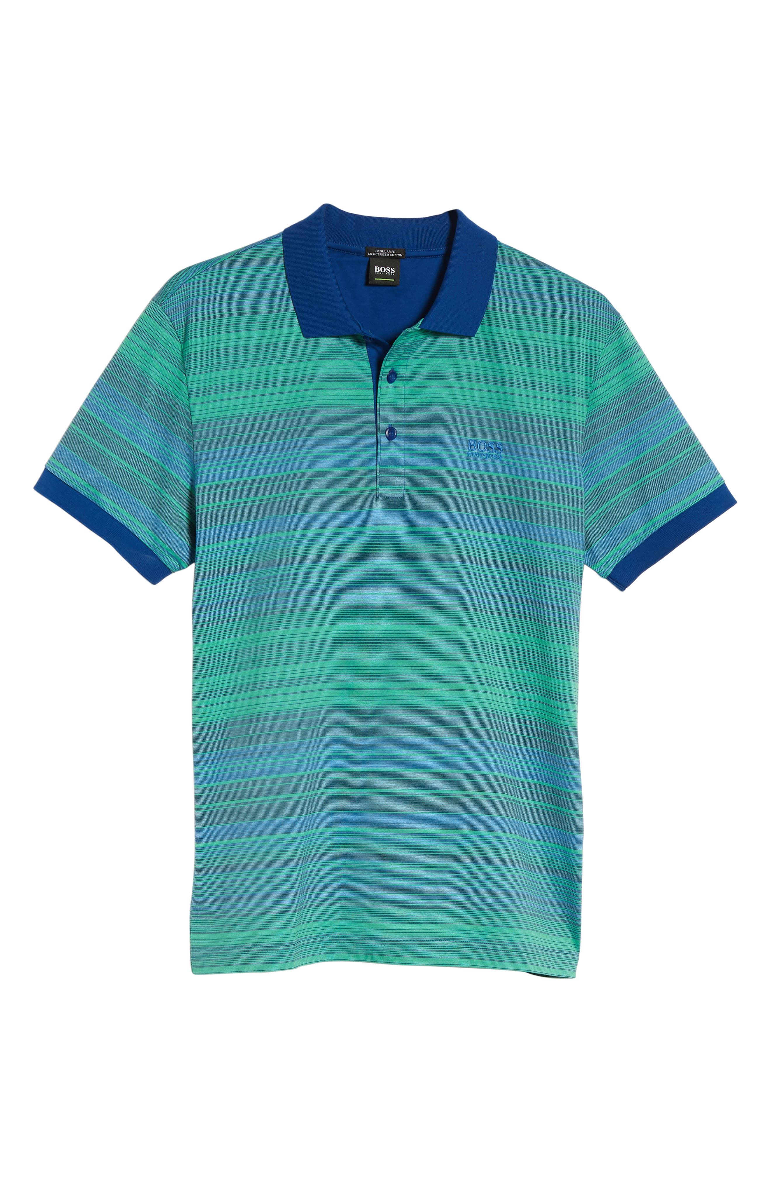Paddy 3 Regular Fit Polo,                             Alternate thumbnail 6, color,                             Blue