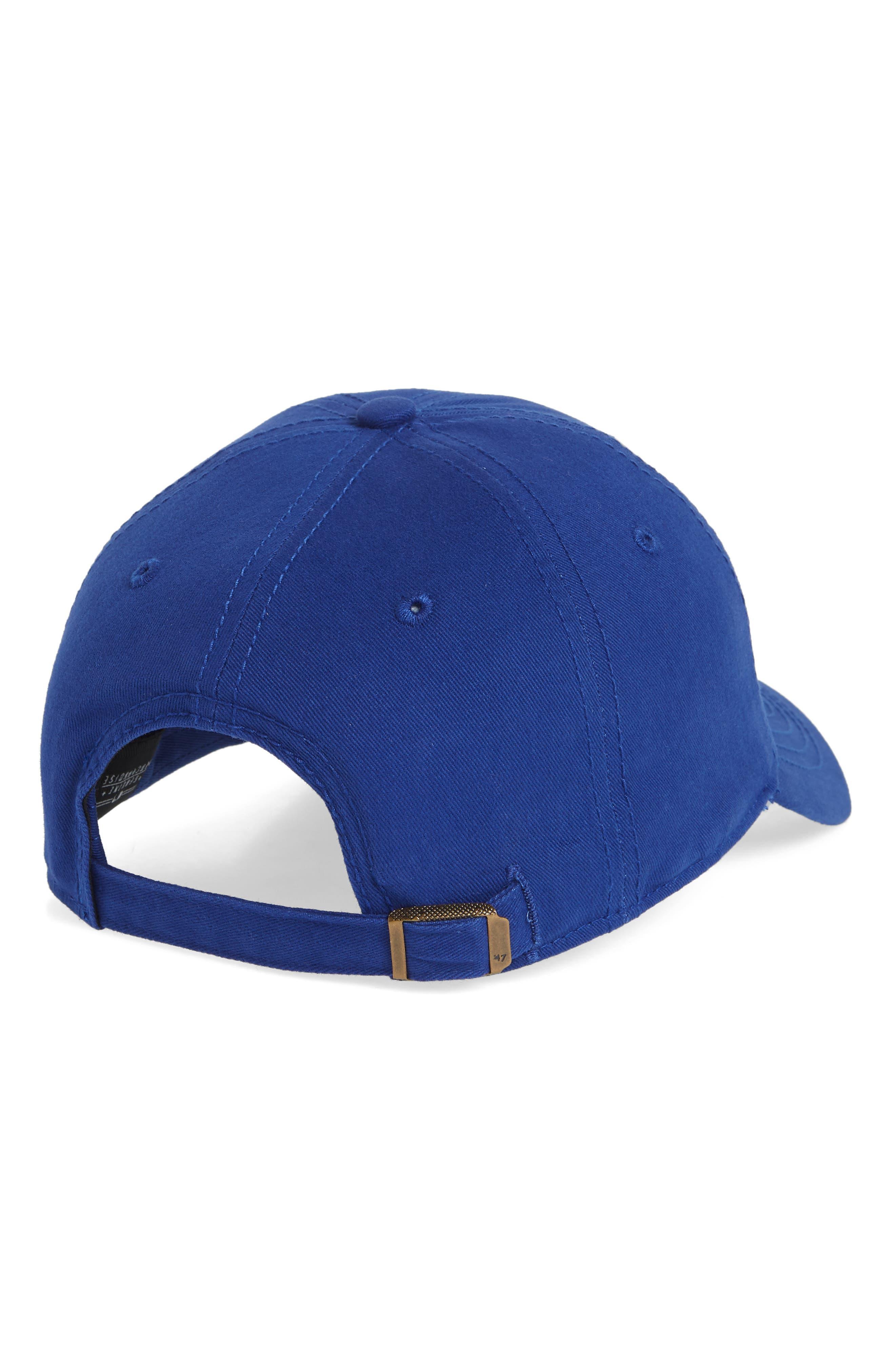 Miata Clean-Up Los Angeles Dodgers Baseball Cap,                             Alternate thumbnail 2, color,                             Royal
