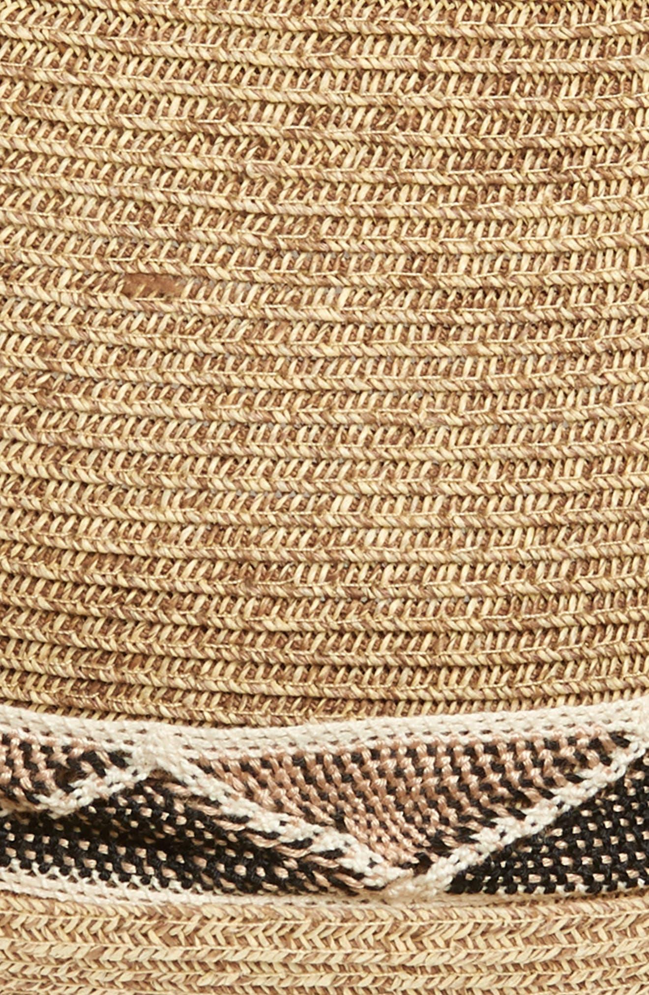 Albuquerque Straw Hat,                             Alternate thumbnail 2, color,                             Brown