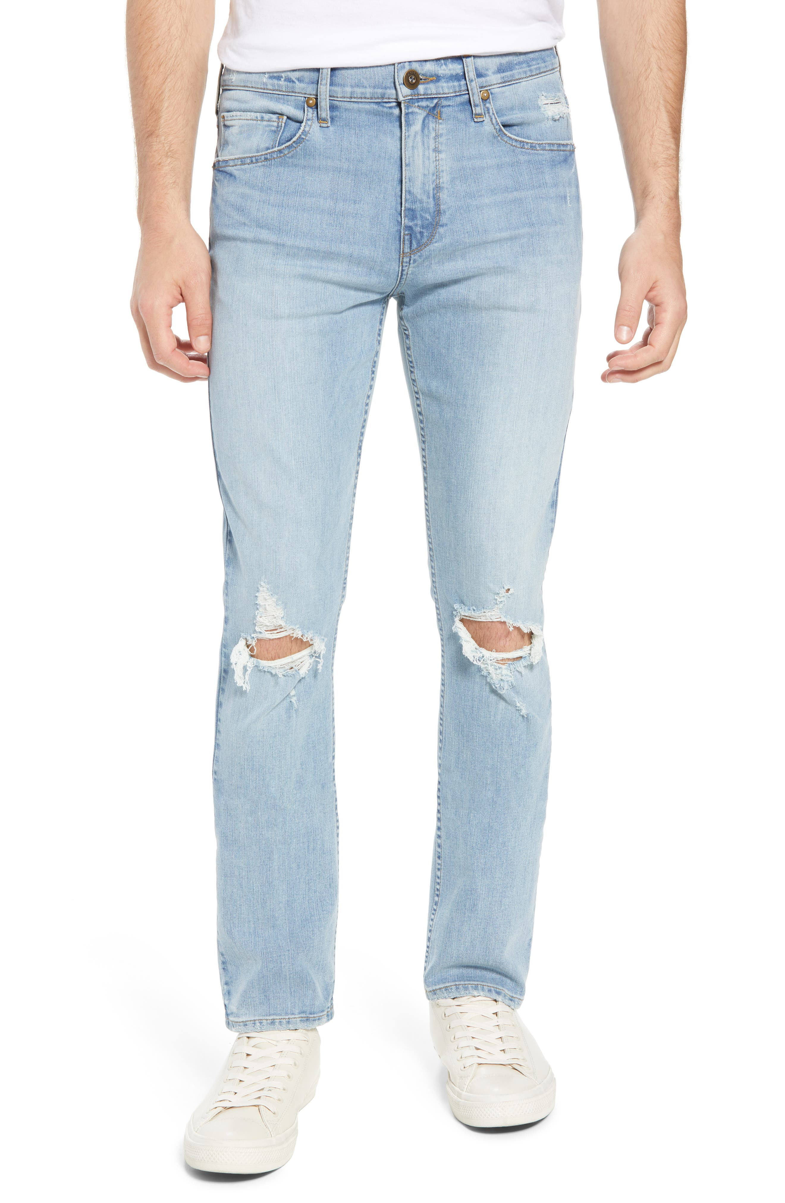 Lennox Slim Fit Jeans,                         Main,                         color, County Destructed