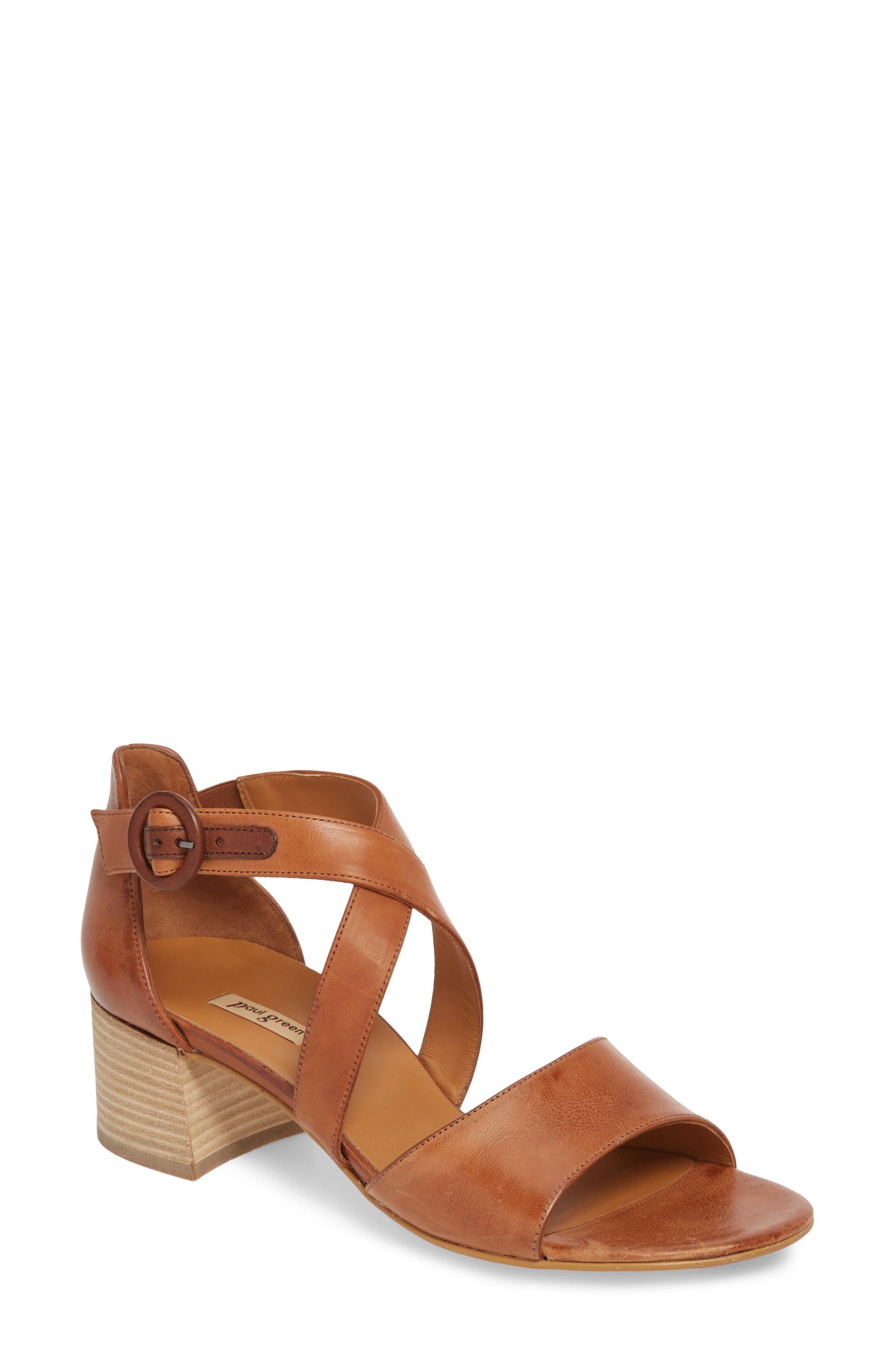 Alternate Image 1 Selected - Paul Green Sally Quarter Strap Sandal (Women)