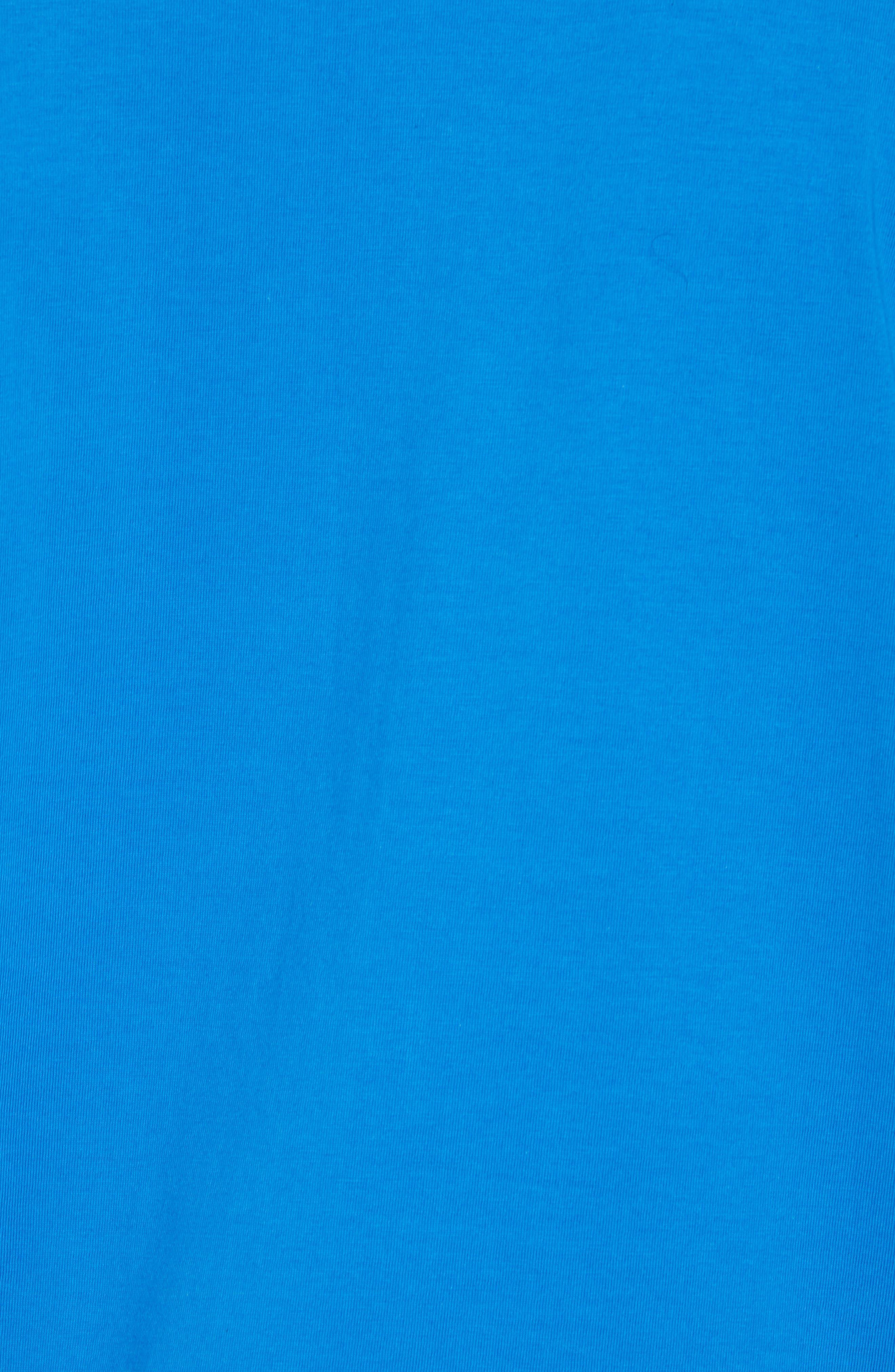Graphic T-Shirt,                             Alternate thumbnail 5, color,                             Daphne