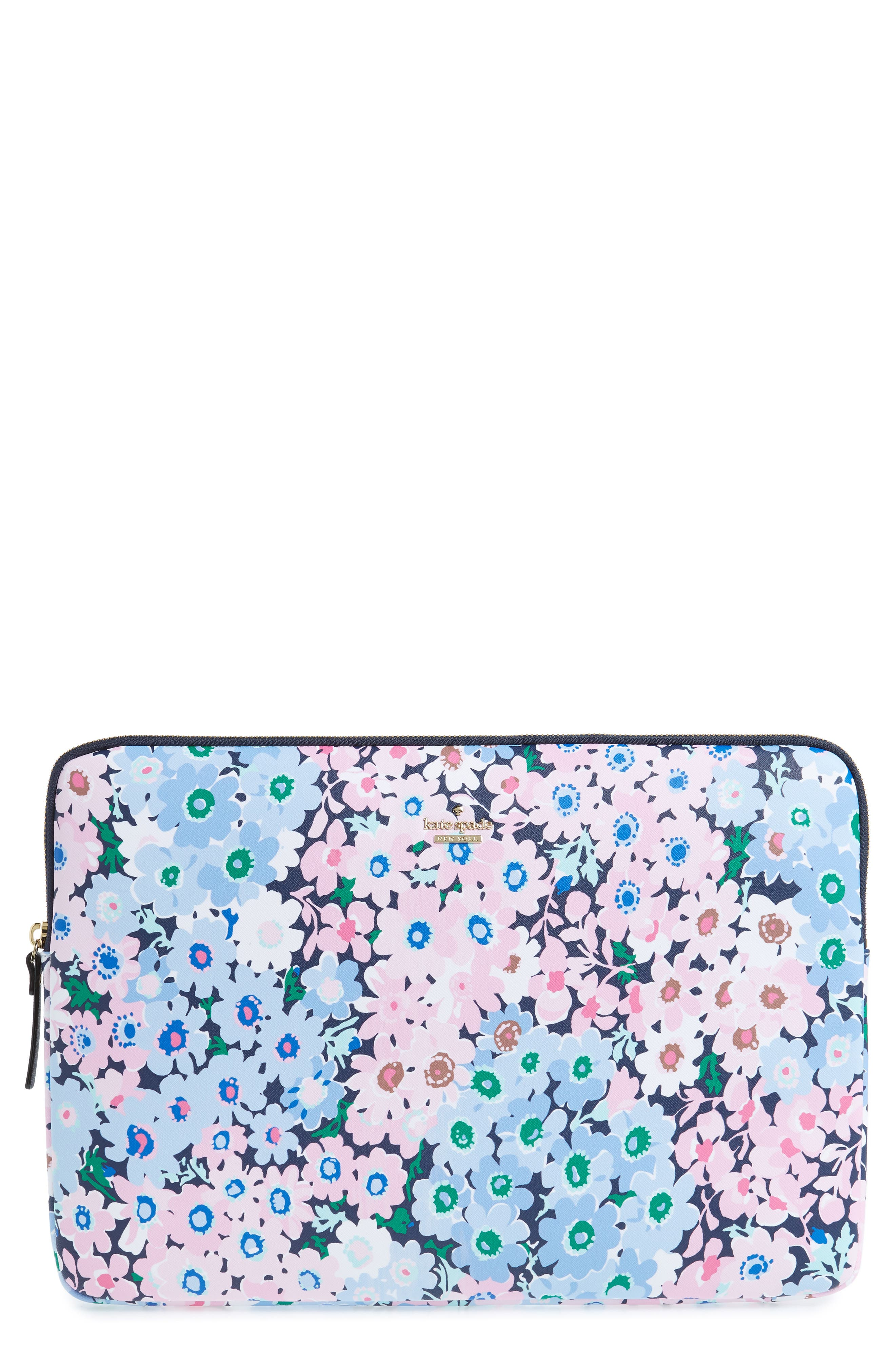 kate spade new york daisy garden faux leather universal laptop sleeve