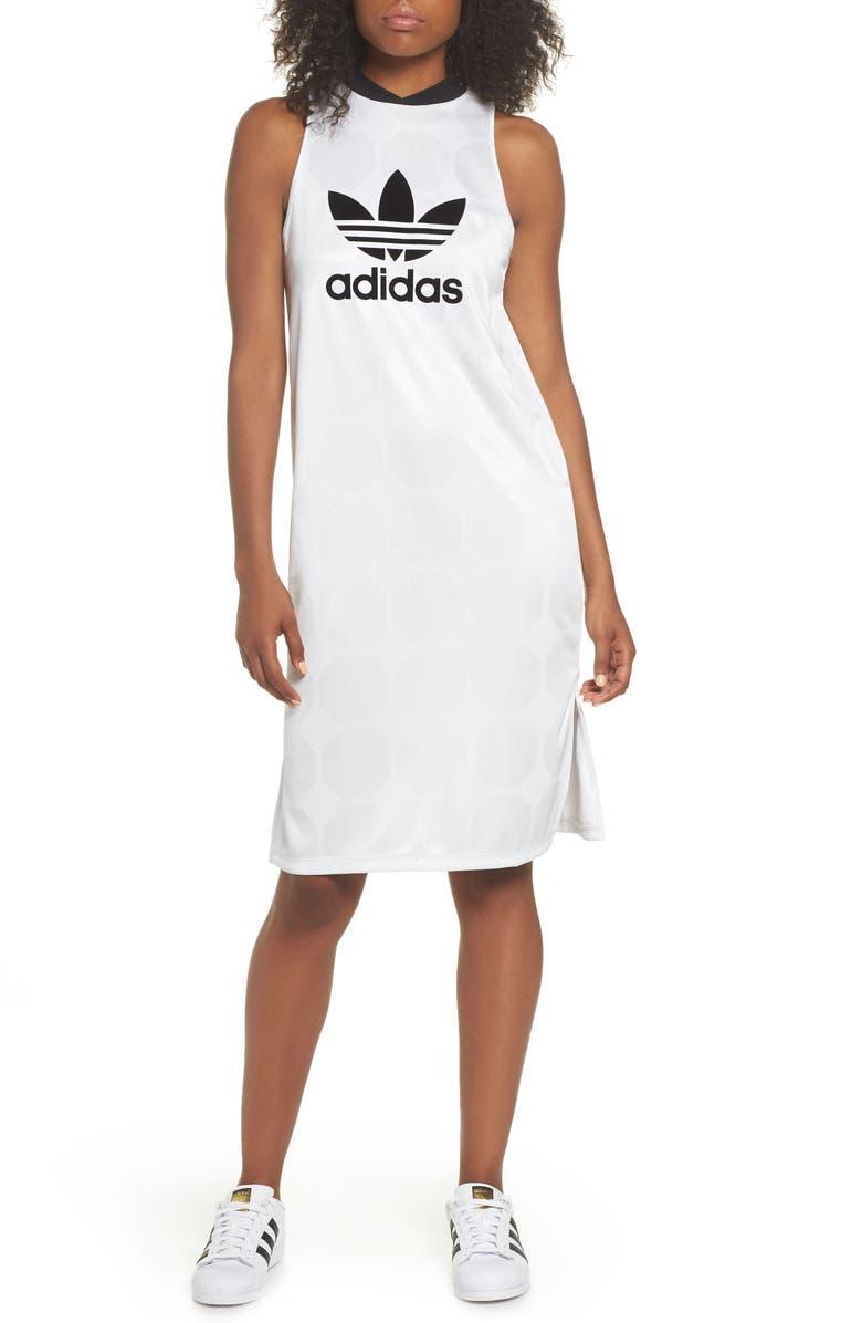 Fashion League Trefoil Jacquard Tank Dress