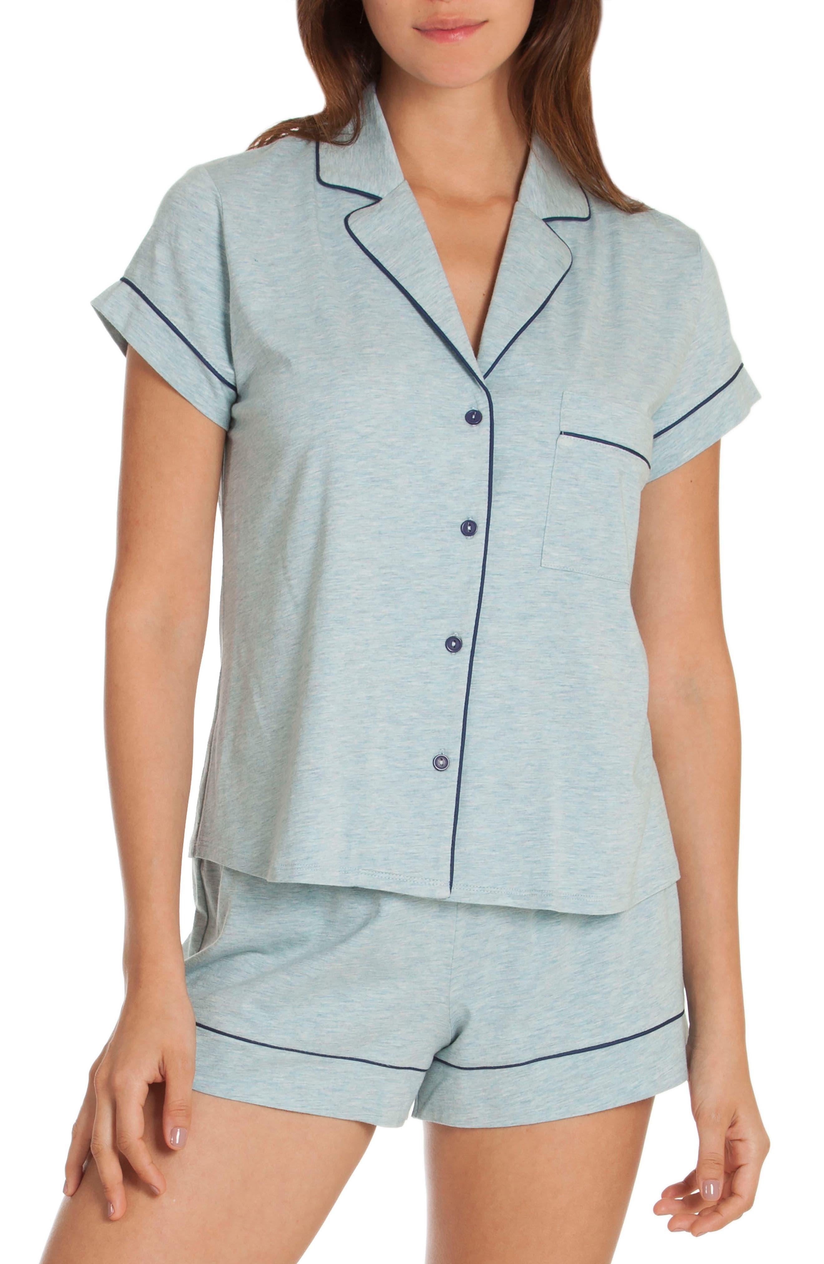 Short Pajamas,                         Main,                         color, Skyfall/ Deep Pacific