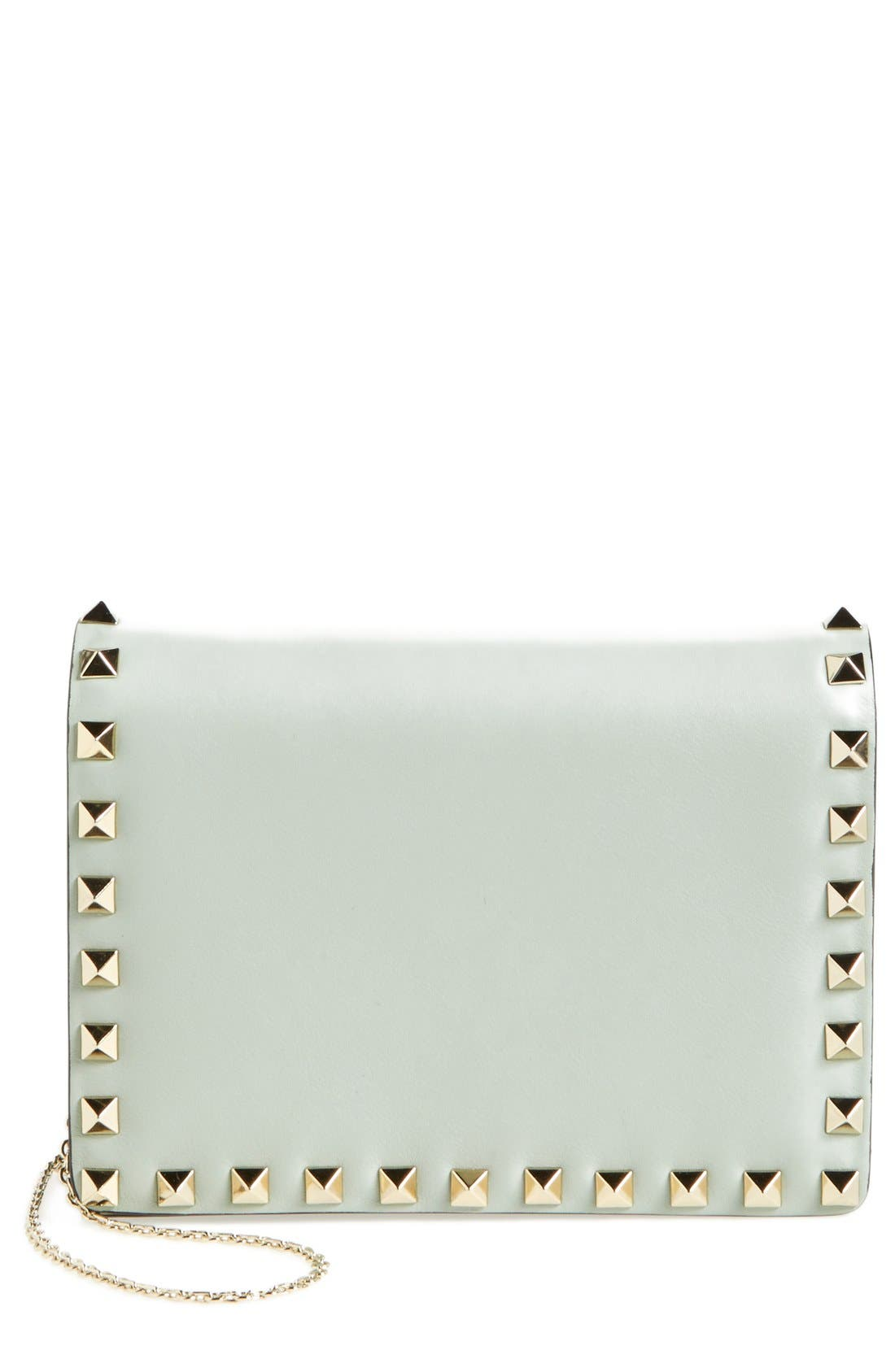 Alternate Image 1 Selected - Valentino 'Rockstud' Leather Crossbody Bag