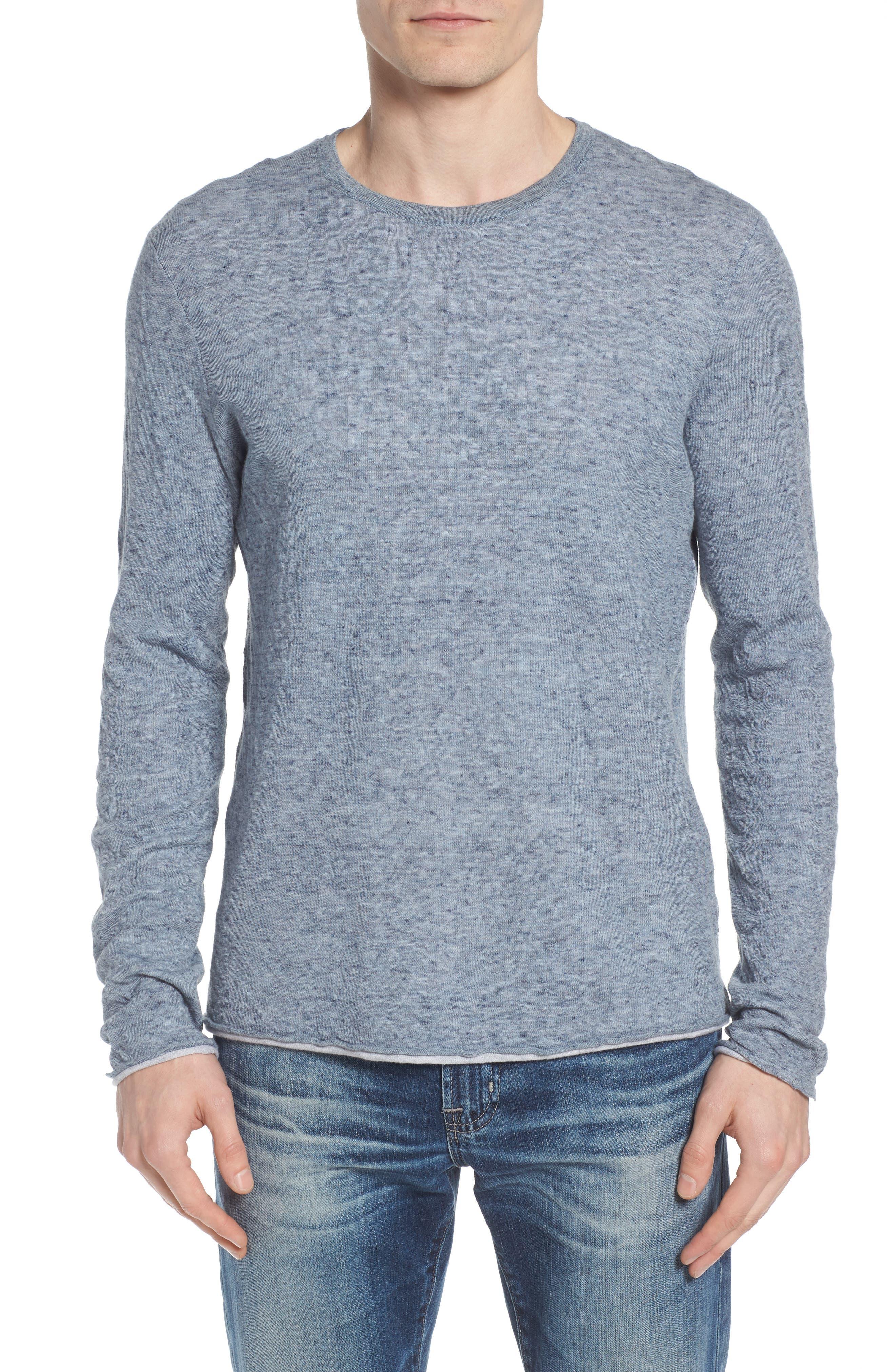 Tripp Regular Fit Crewneck Shirt,                             Main thumbnail 1, color,                             Light Blue