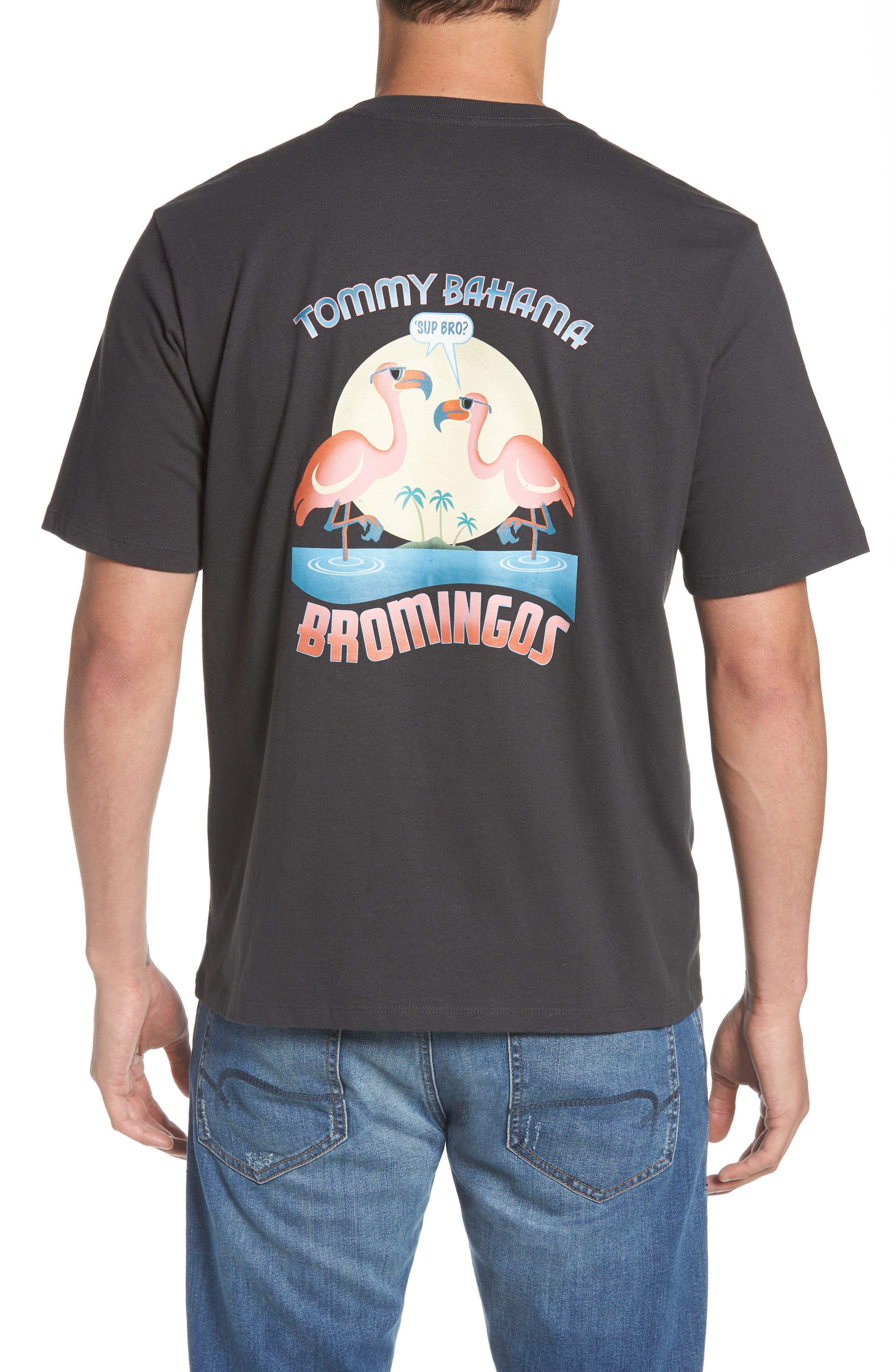 Bromingos T-Shirt,                             Alternate thumbnail 2, color,                             Coal