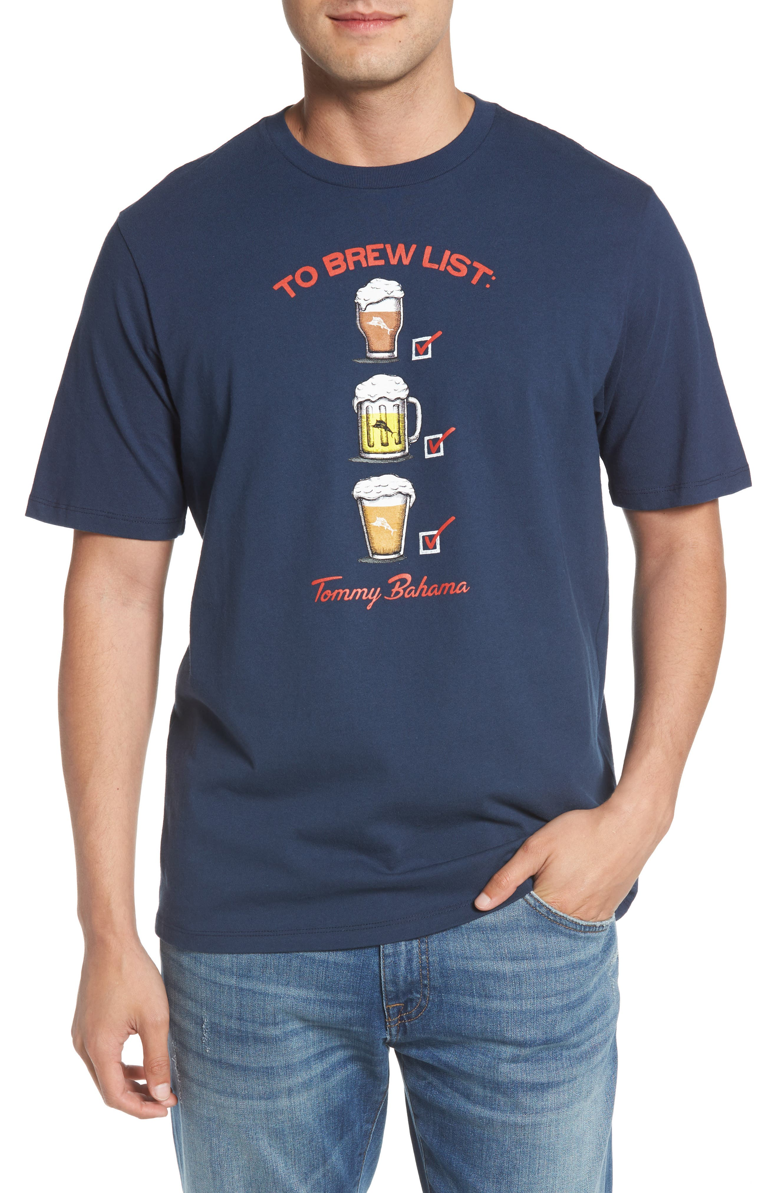 Tommy Bahama To Brew List T-Shirt