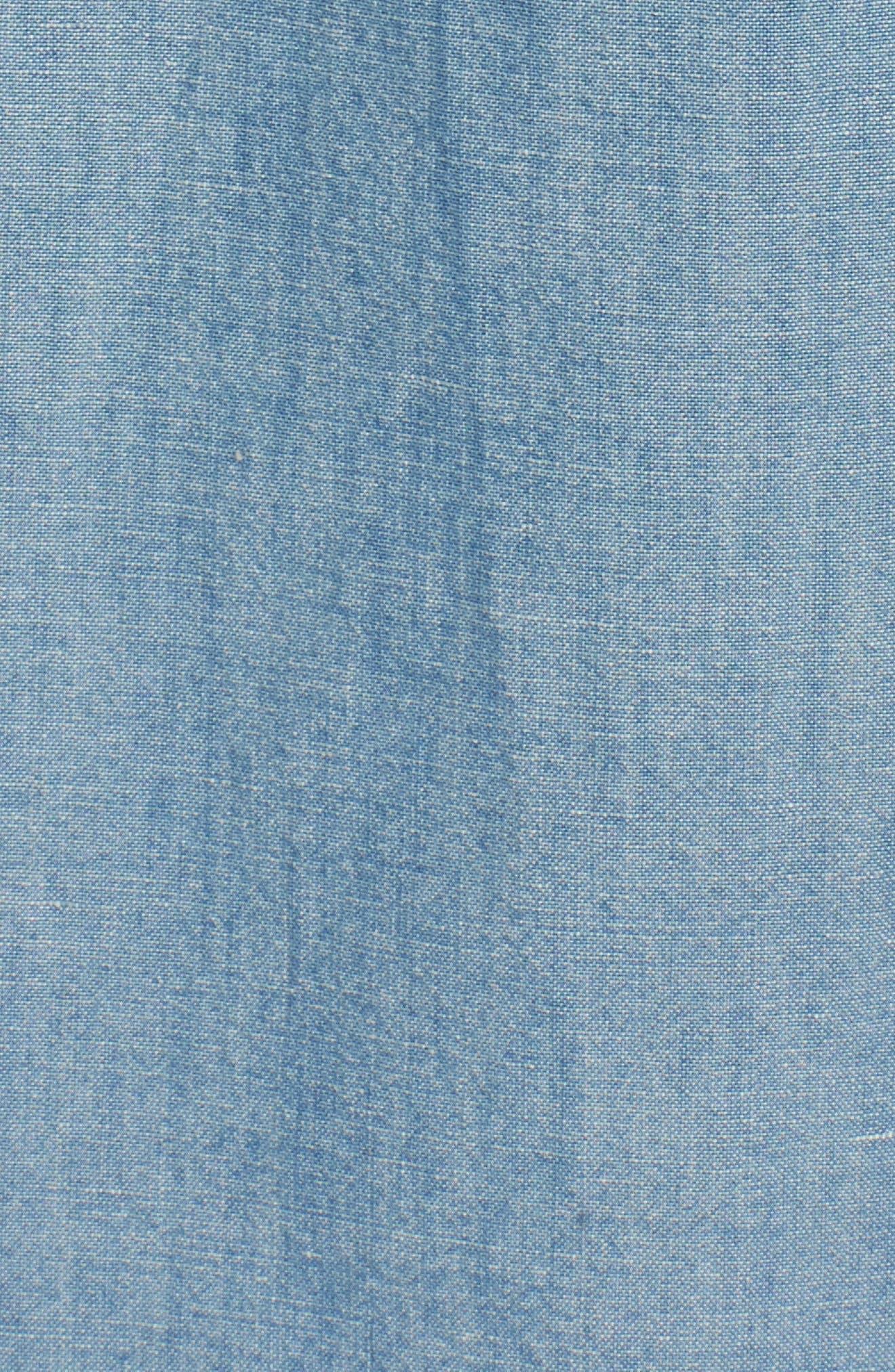 Pearson Regular Fit Short Sleeve Sport Shirt,                             Alternate thumbnail 5, color,                             Foray