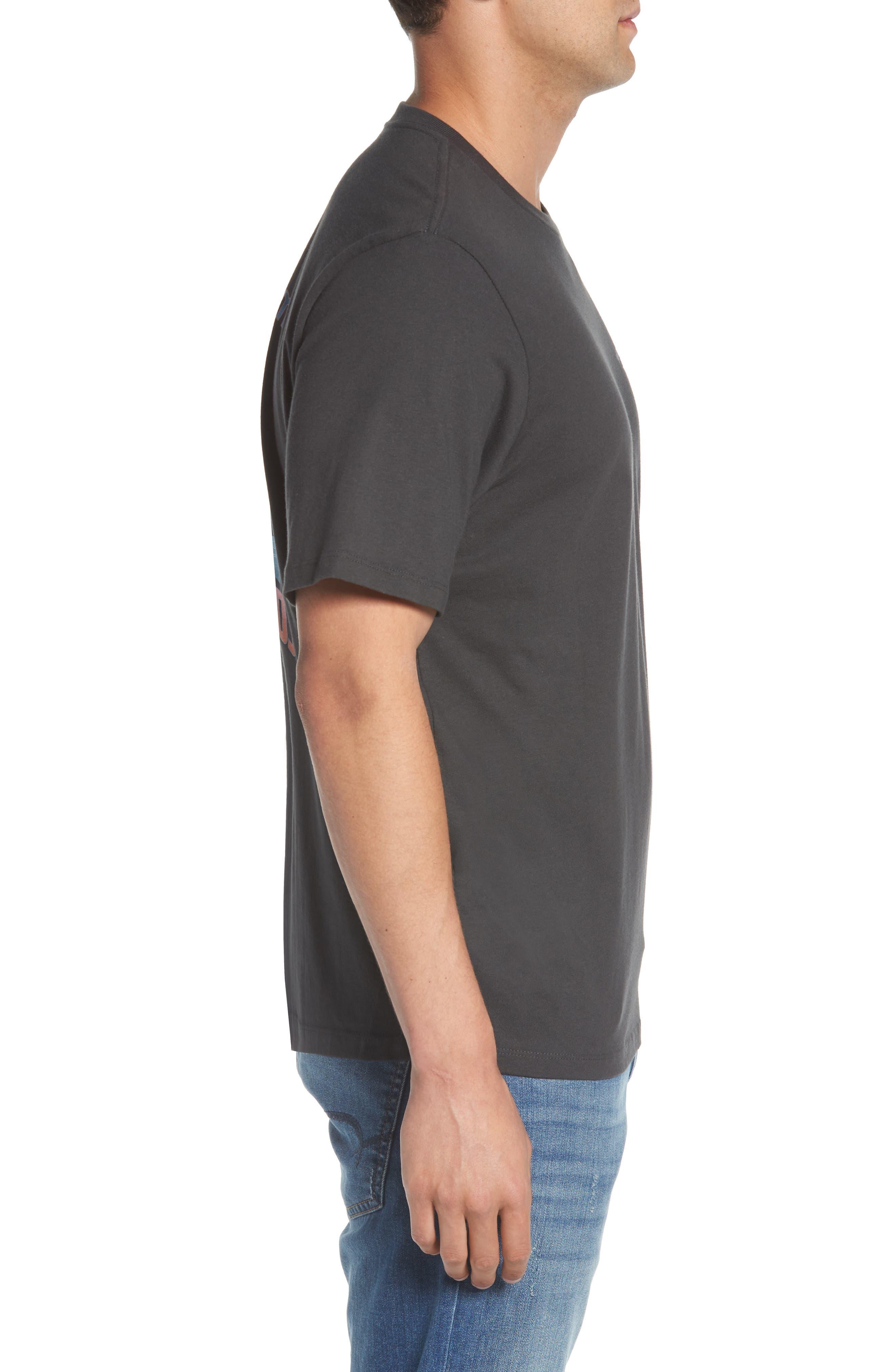 Bromingos T-Shirt,                             Alternate thumbnail 3, color,                             Coal