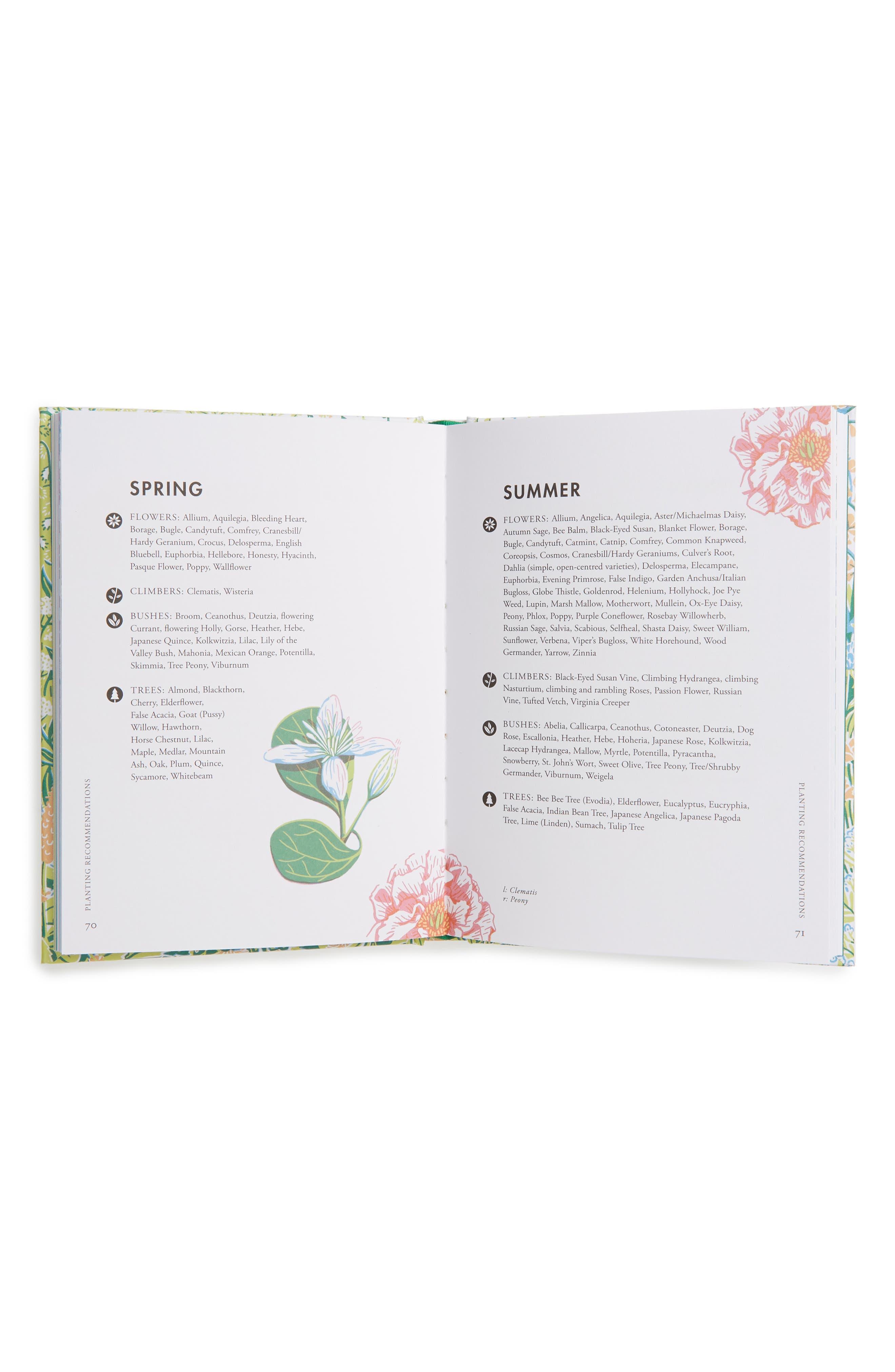 Planting For Honeybees Book,                             Alternate thumbnail 2, color,                             Blue/ Green Multi