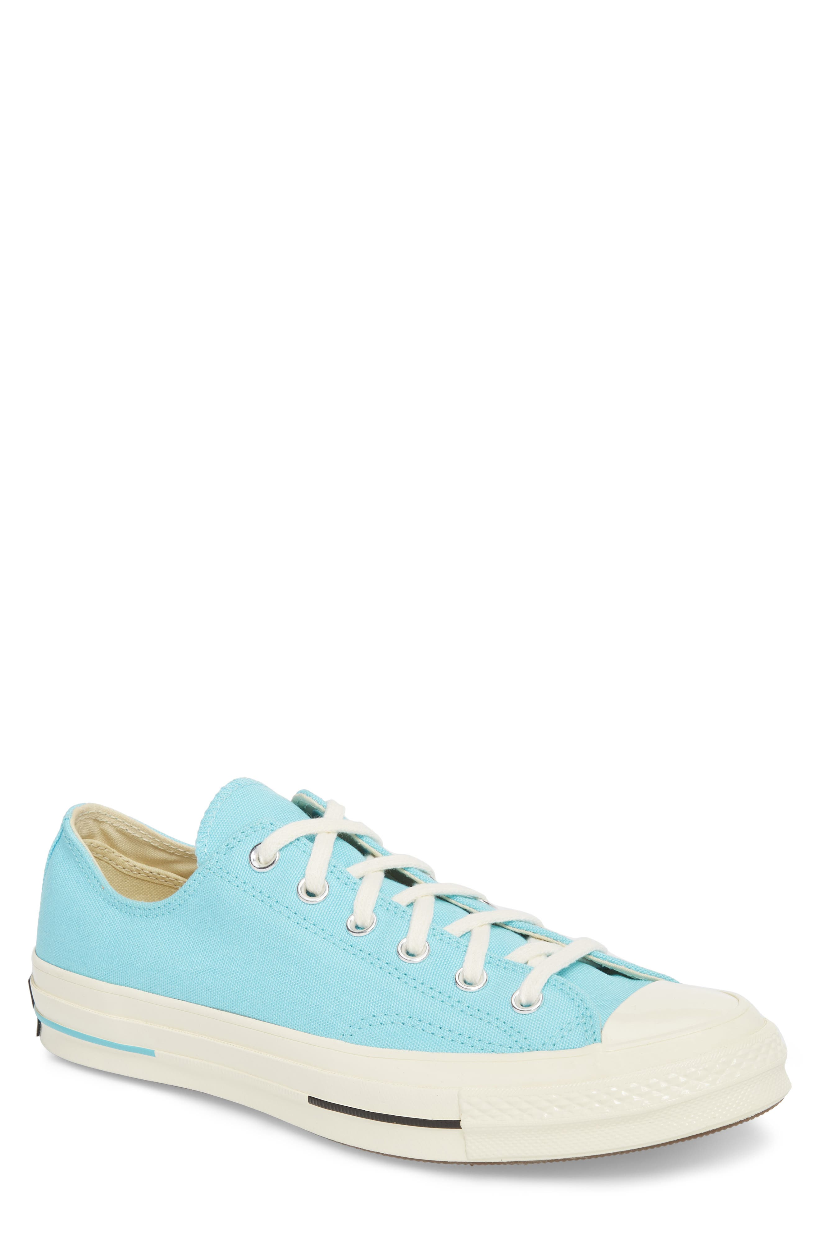Chuck Taylor<sup>®</sup> All Star<sup>®</sup> 70 Brights Low Top Sneaker,                             Main thumbnail 1, color,                             Beached Aqua