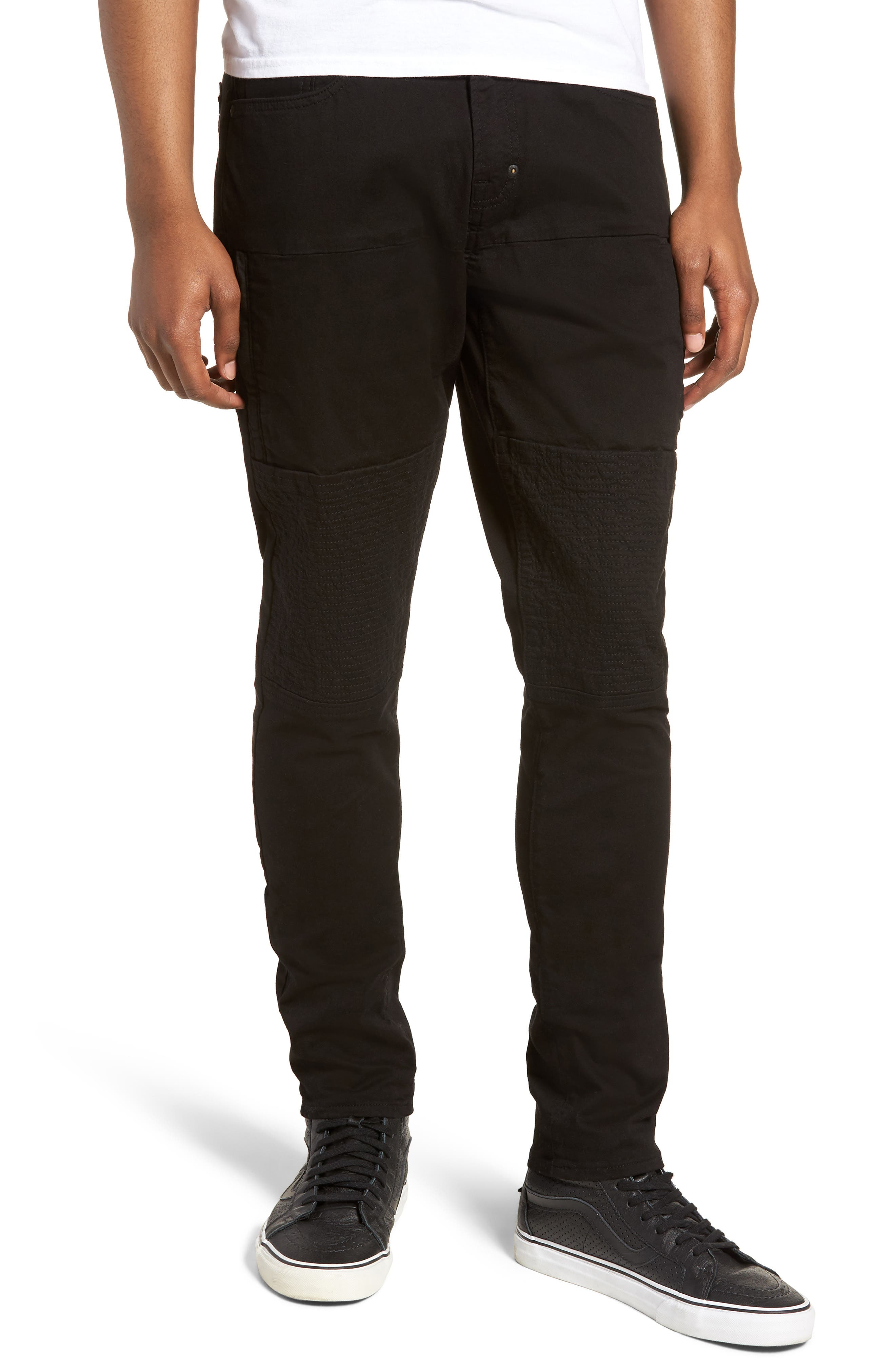 Le Sabre Slim Fit Jeans,                         Main,                         color, Black